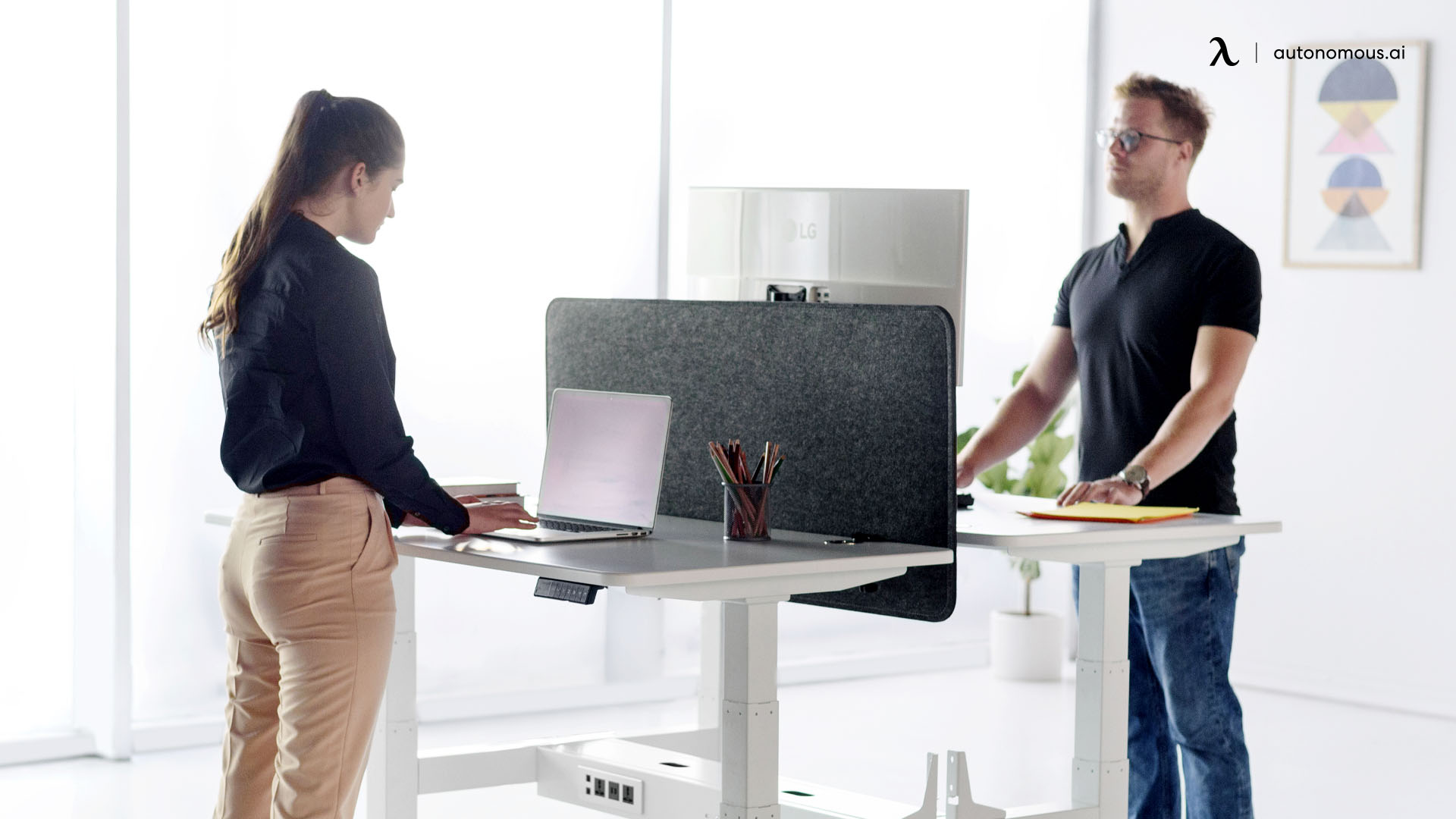 Stand Up Ergonomically Correct Workstation