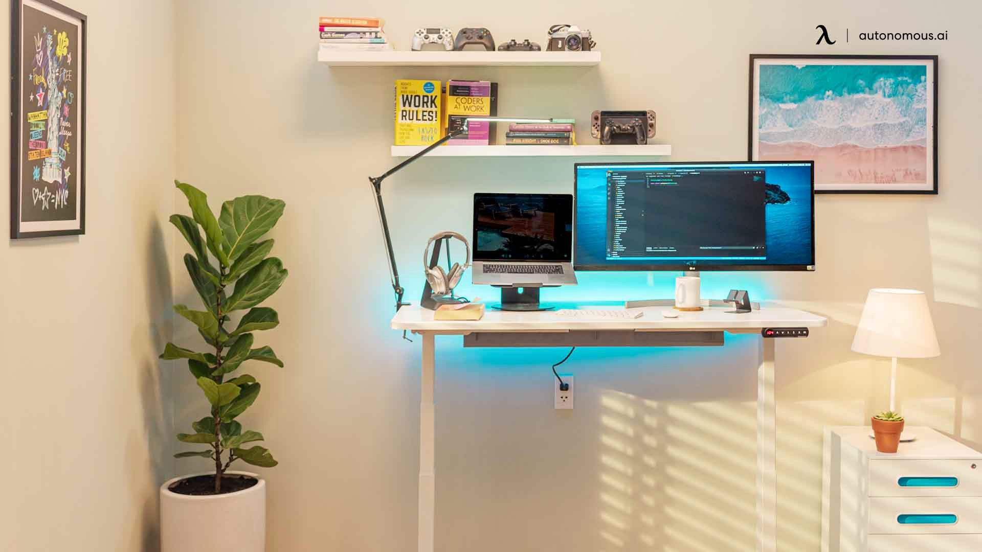 Why Use an Automated Standing Desk like the SmartDesk 2 from Autonomous