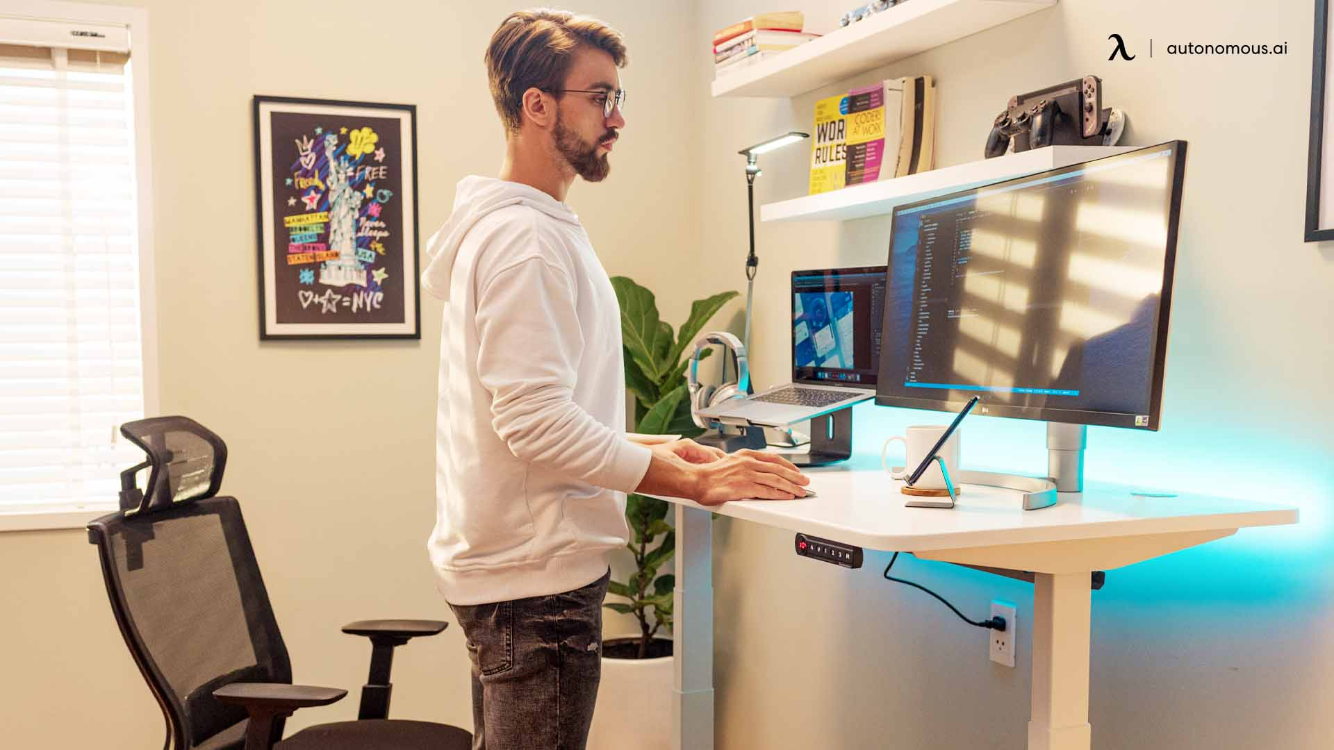 Differences between an Automated and Manual Standing Desk