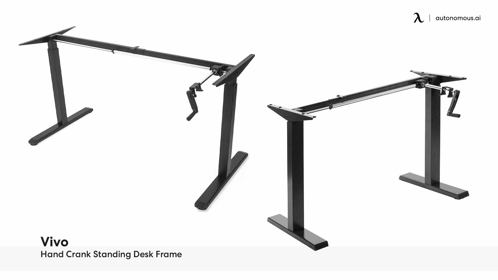 Vivo Hand Crank Standing Desk Frame