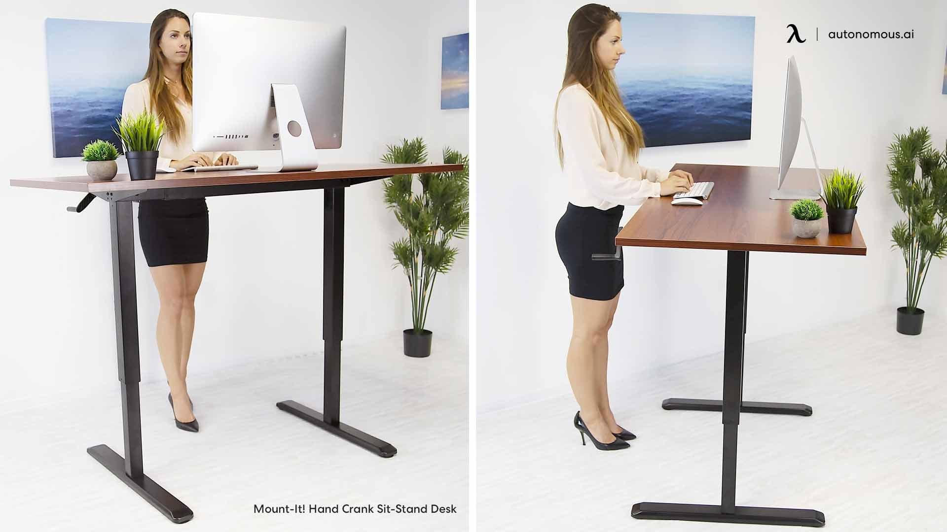Advantages of Hand Crank Adjustable Desk