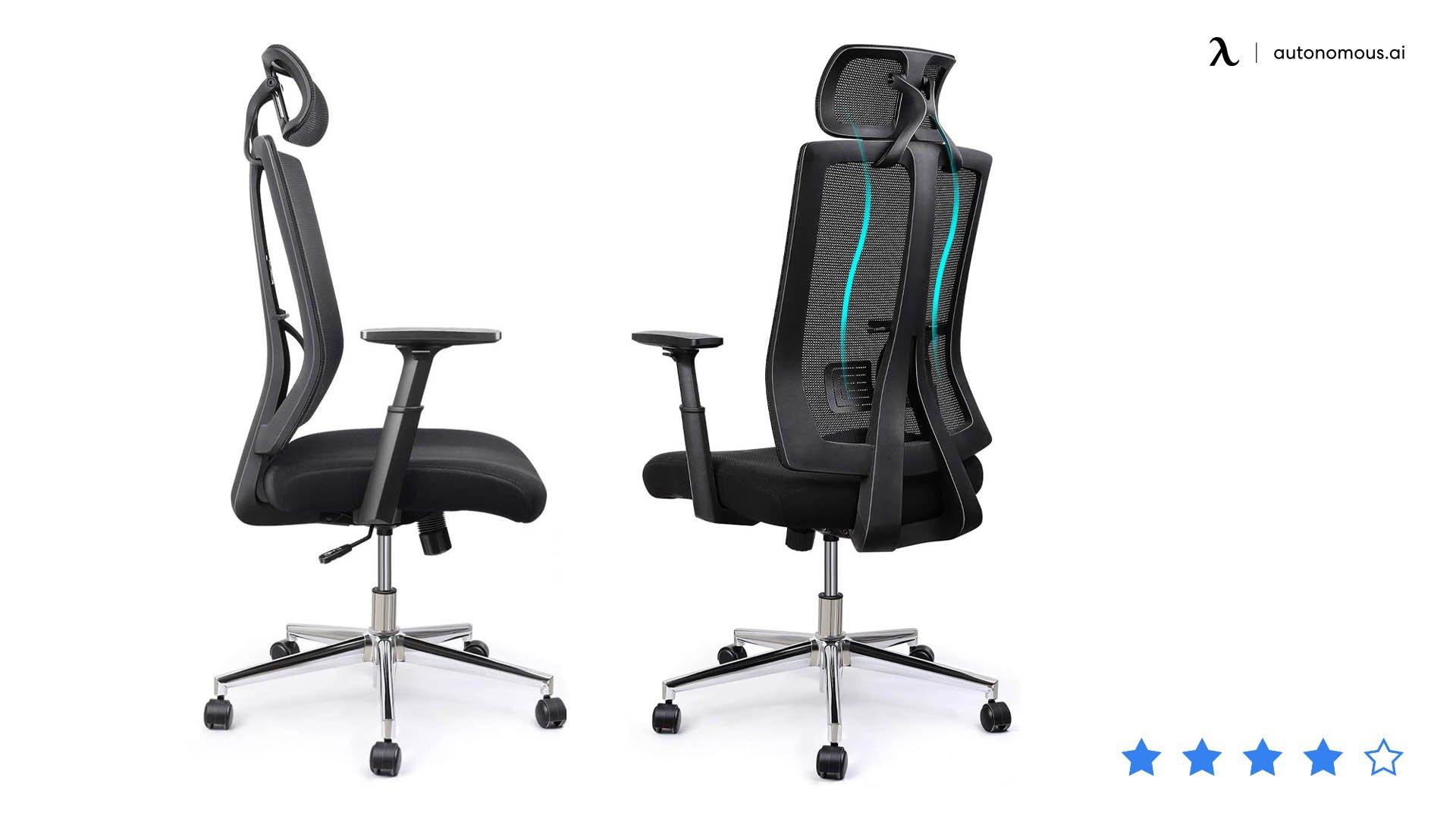 IntimaTe WM Heart Mesh Ergonomic Chair