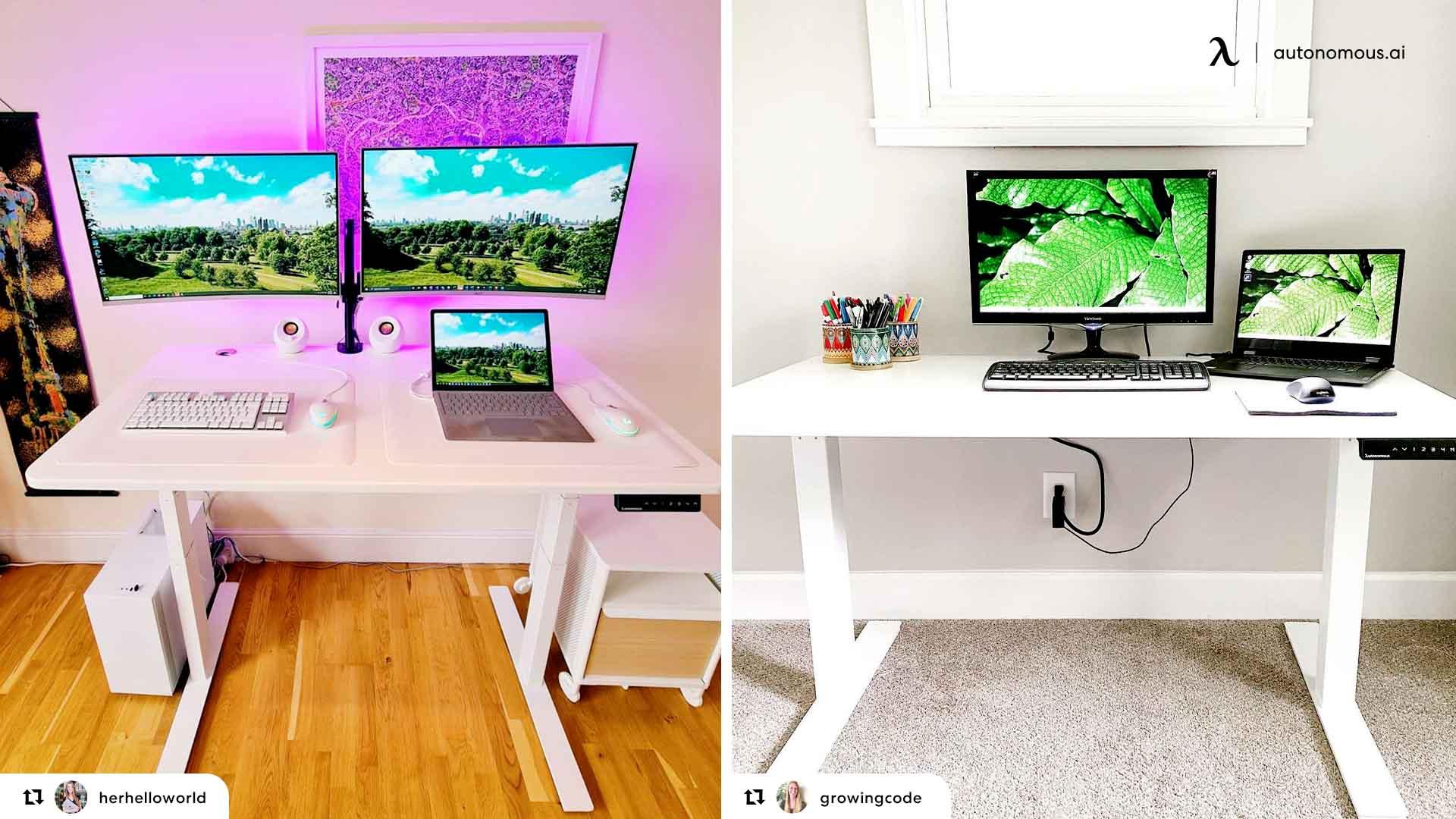 Step 1 – The Desk