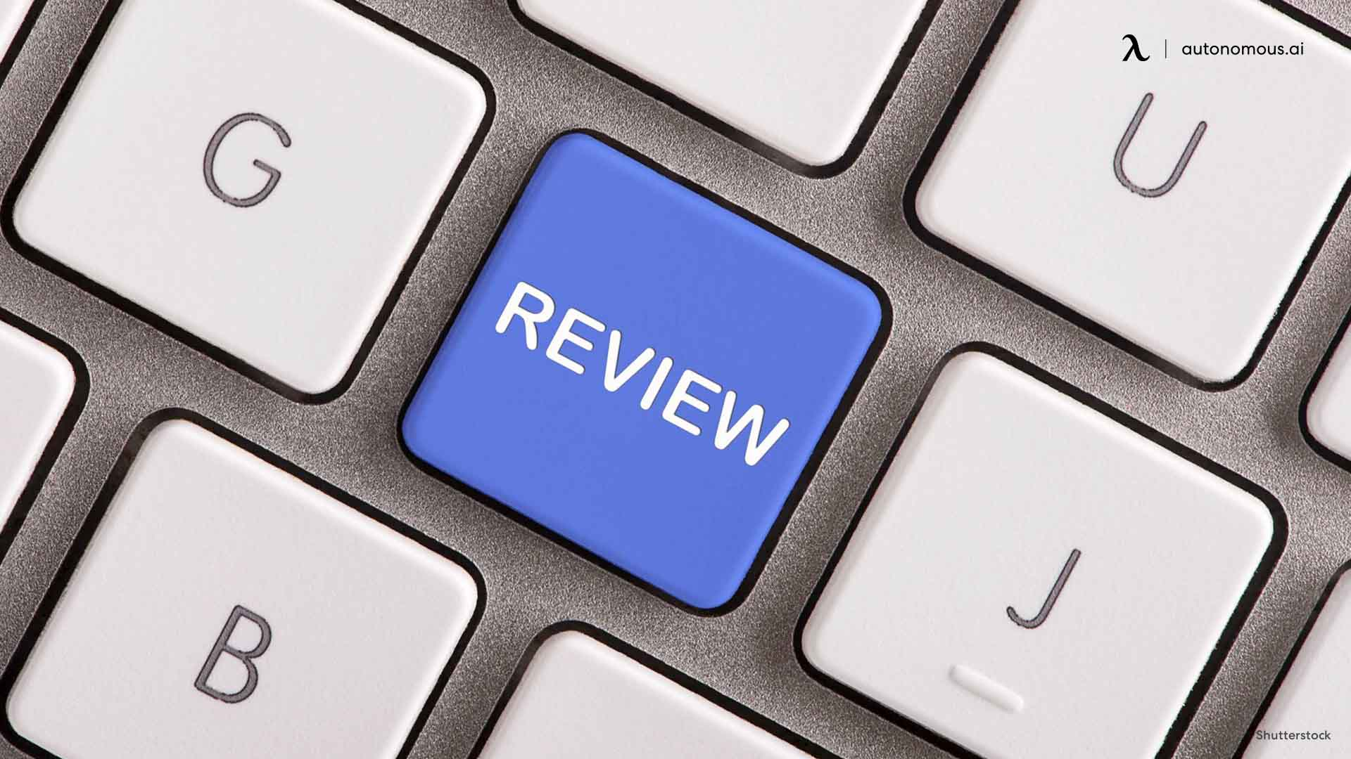 Check out Online Reviews