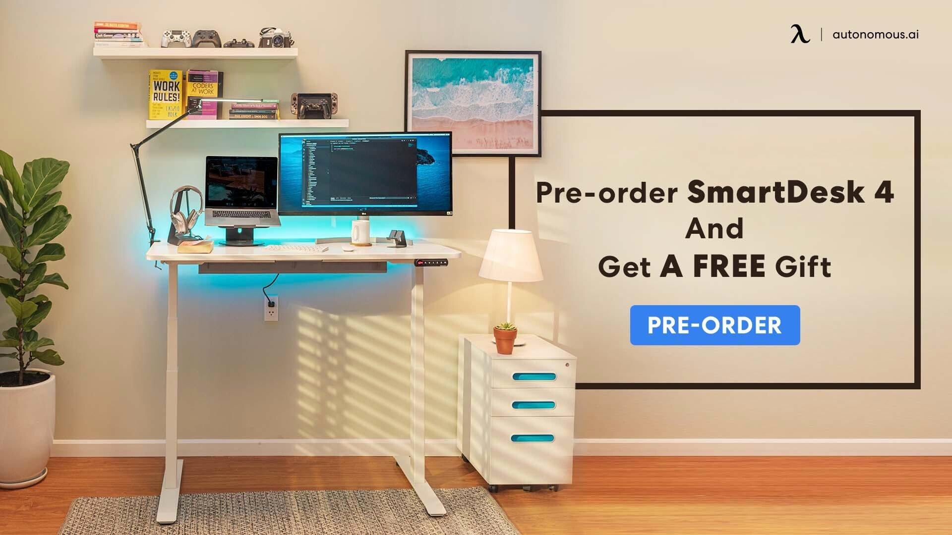 Pre-order SmartDesk 4 promotion