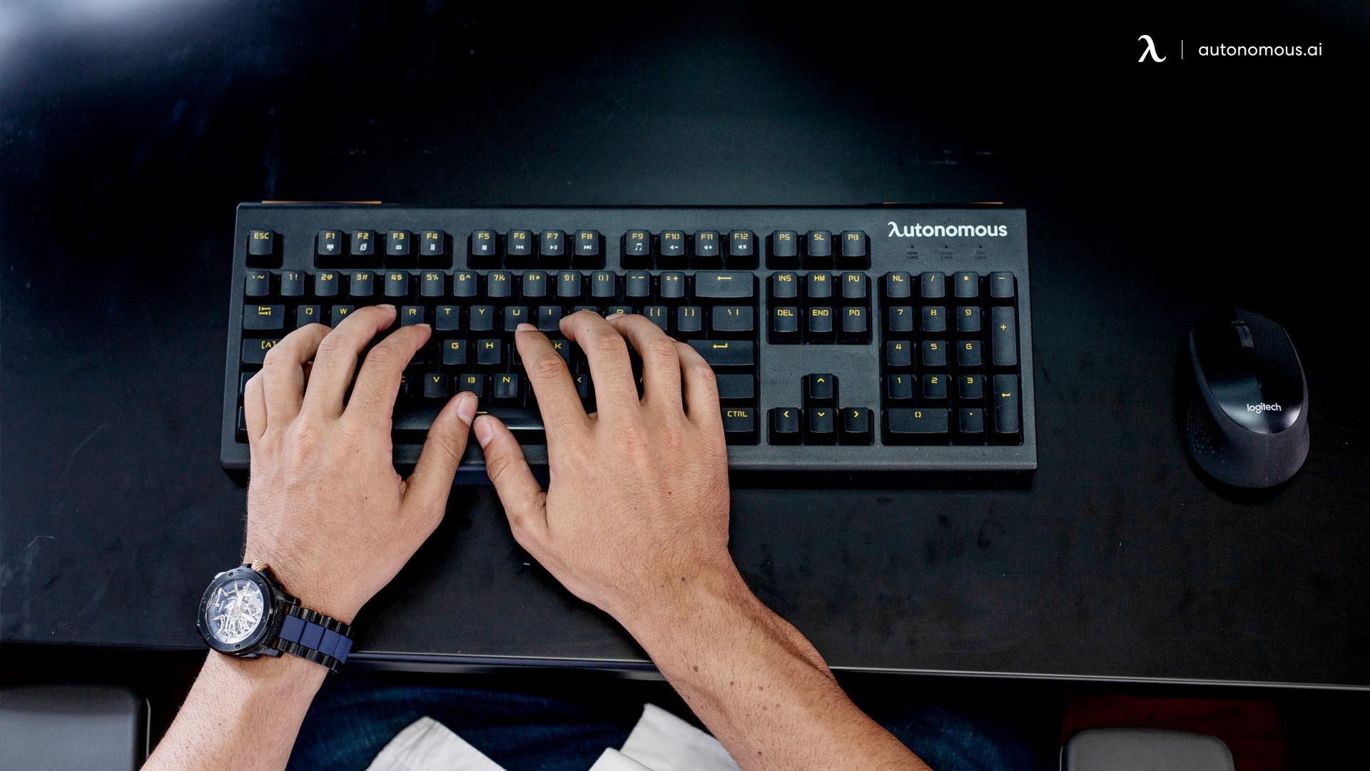 Keyboard position