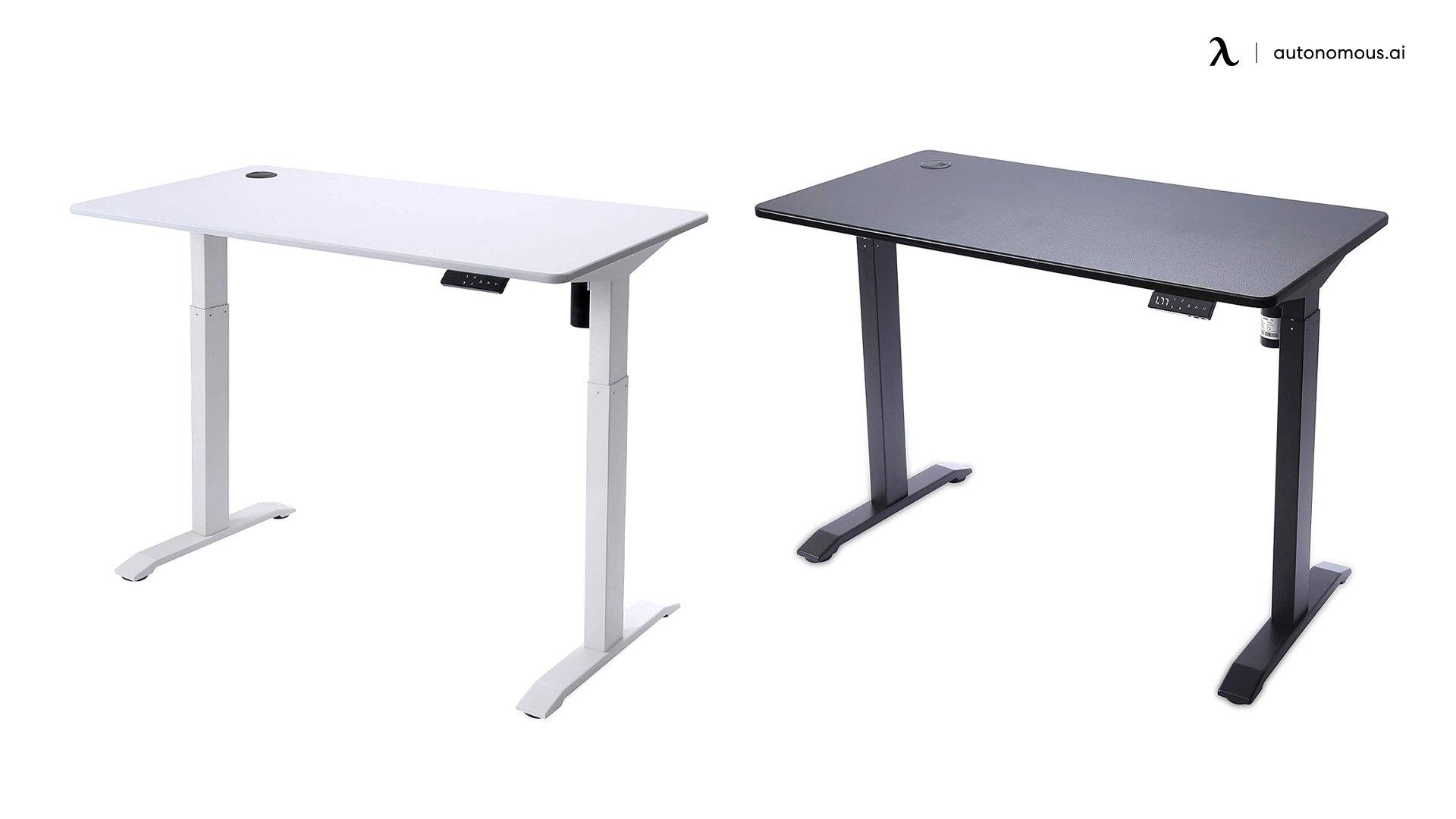 UNICOO reclaimed  Wood Adjustable desk