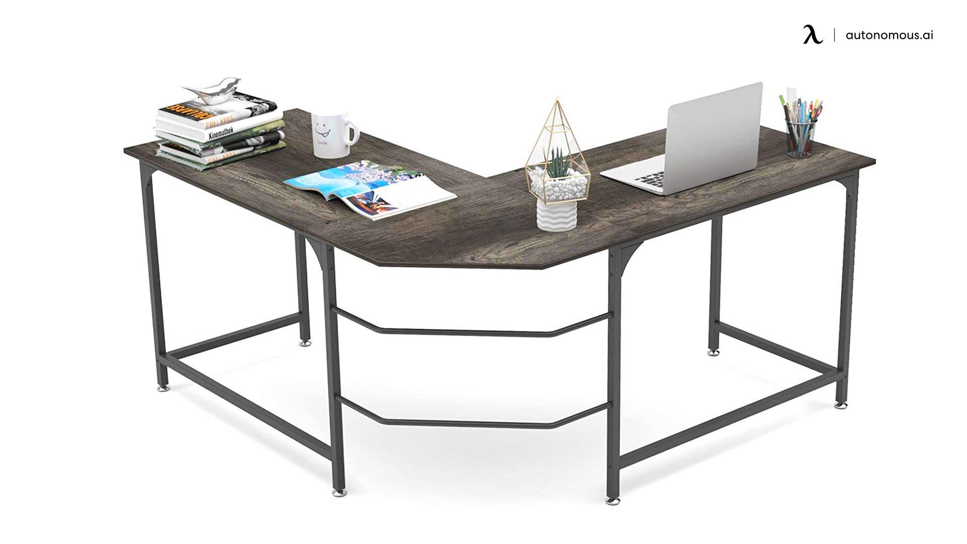 "Elephance 59"" Large L-Shaped Desk"
