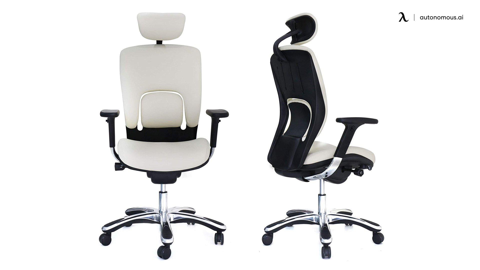 GM Seating Ergonomic Genuine Leather Chair