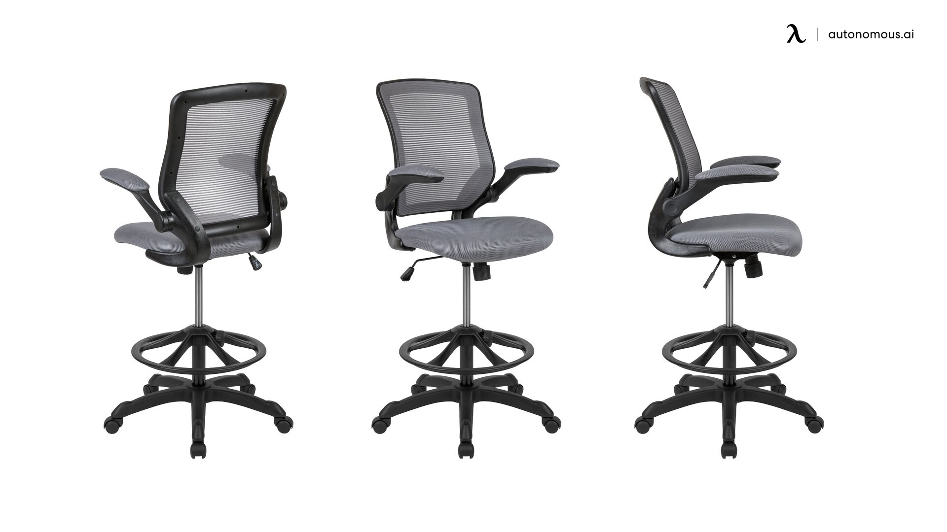 Ebern Ergonomic Mesh Drafting chair