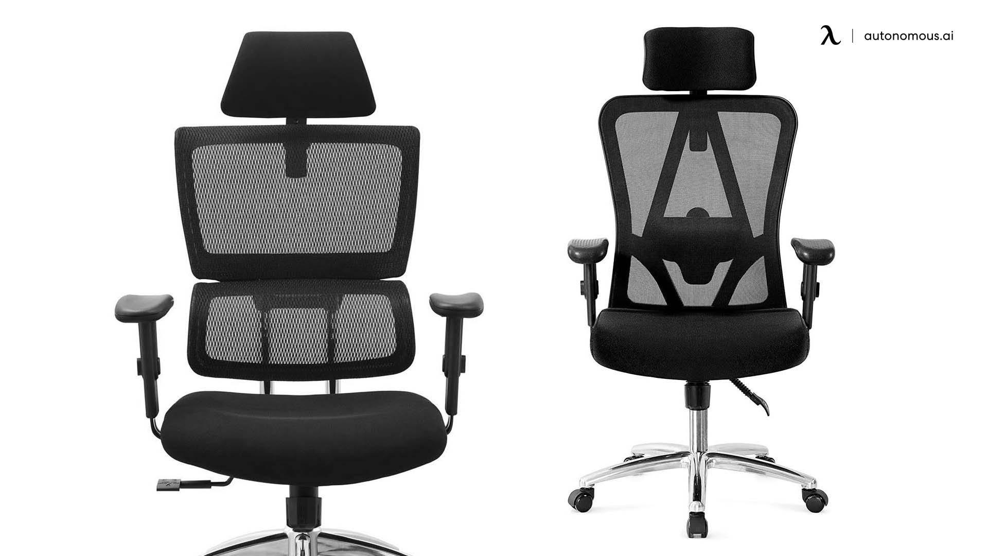 Tivoca Black Ergonomic chair headrest