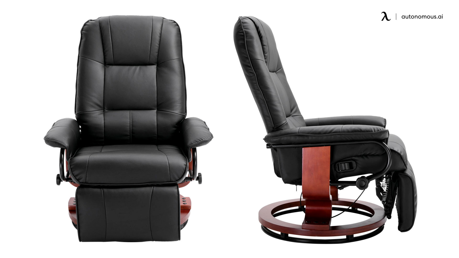 HOMCOM ergonomic office recliner