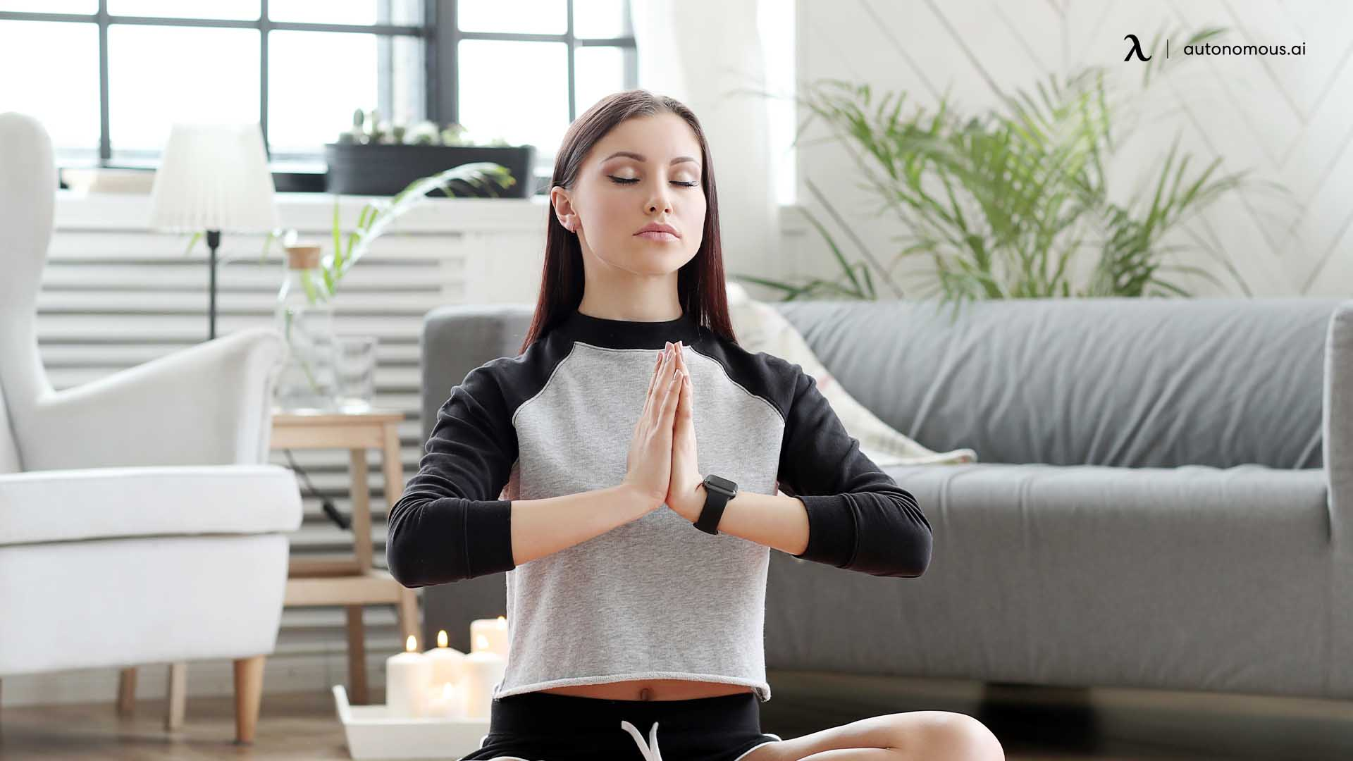Praying Position Stretches