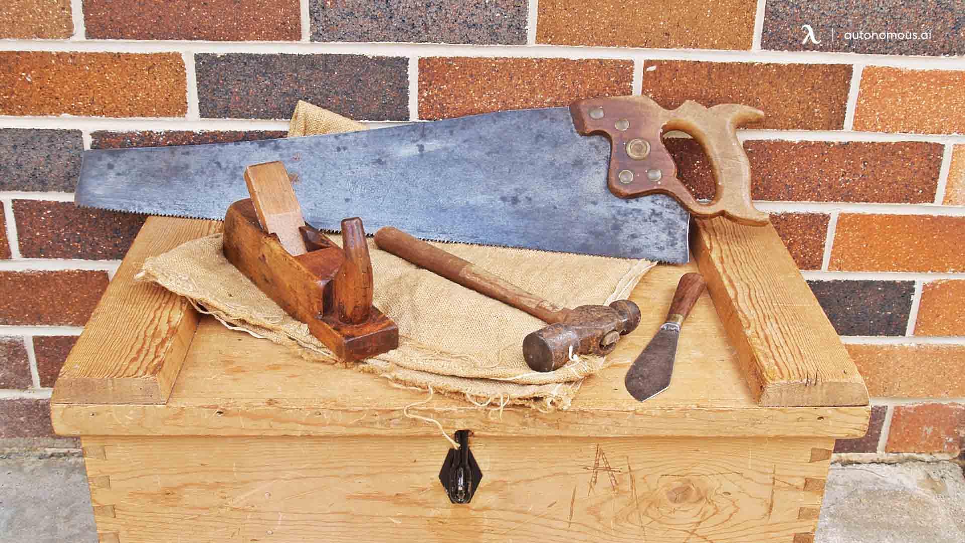 Tools Needed to Make a Wood Desktop Standing Desk