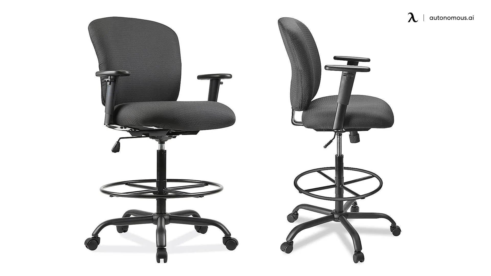 Uline Big and Tall work stool