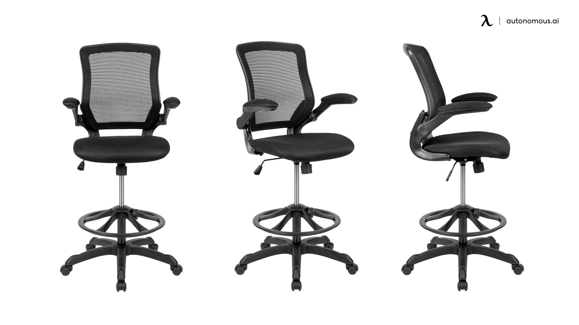 Pierrepont Mid-back Ergonomic mesh drafting chair