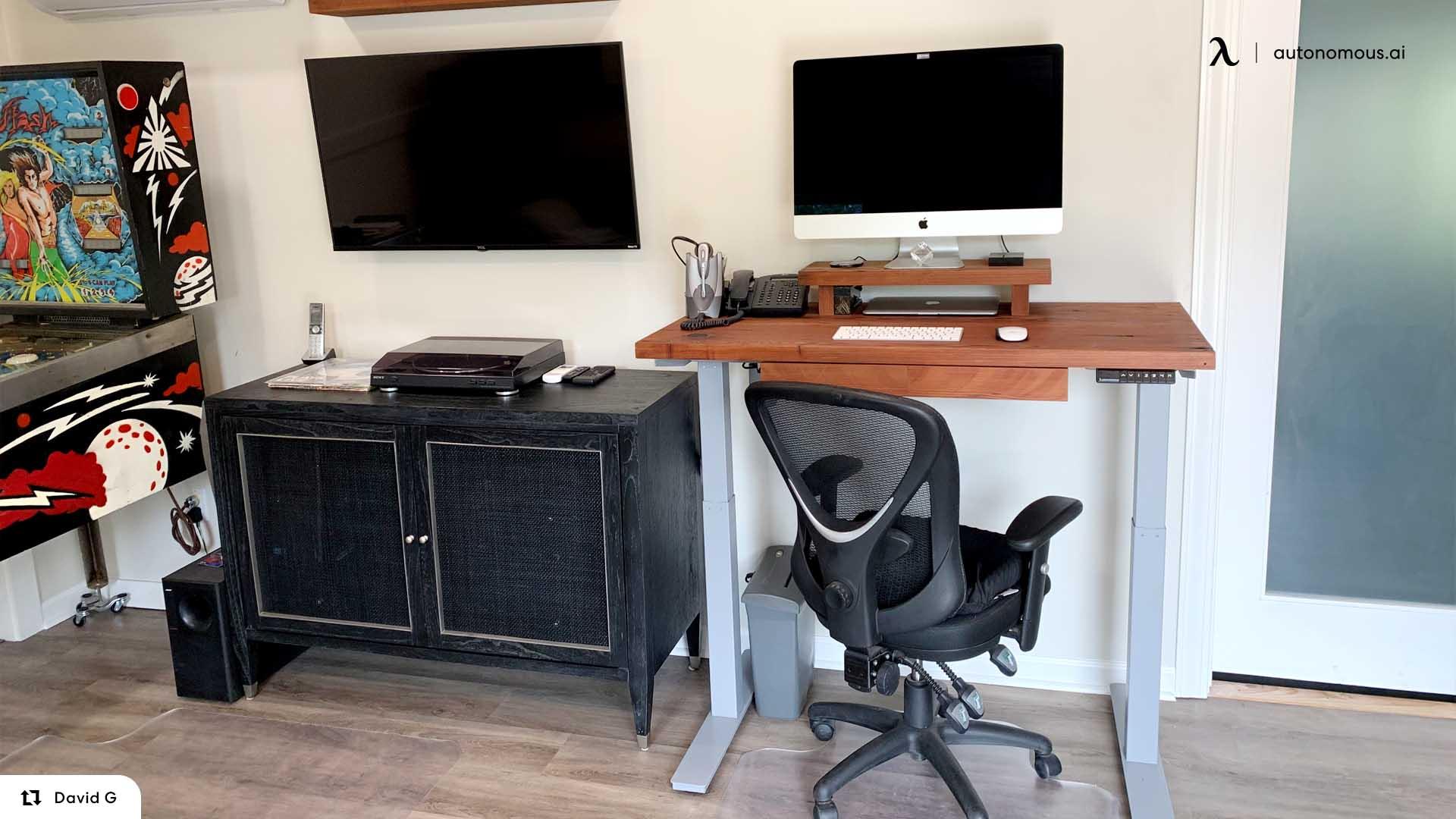 Using the DIY Standing Desk Kit
