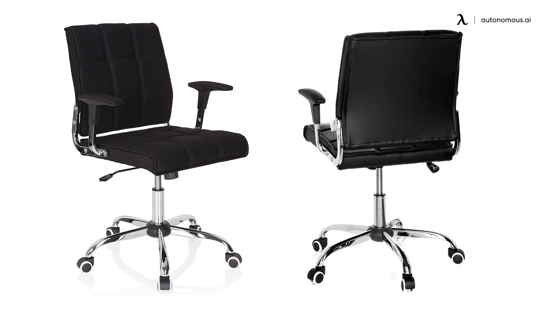 Black Office Chair - HJH Office Ernesto