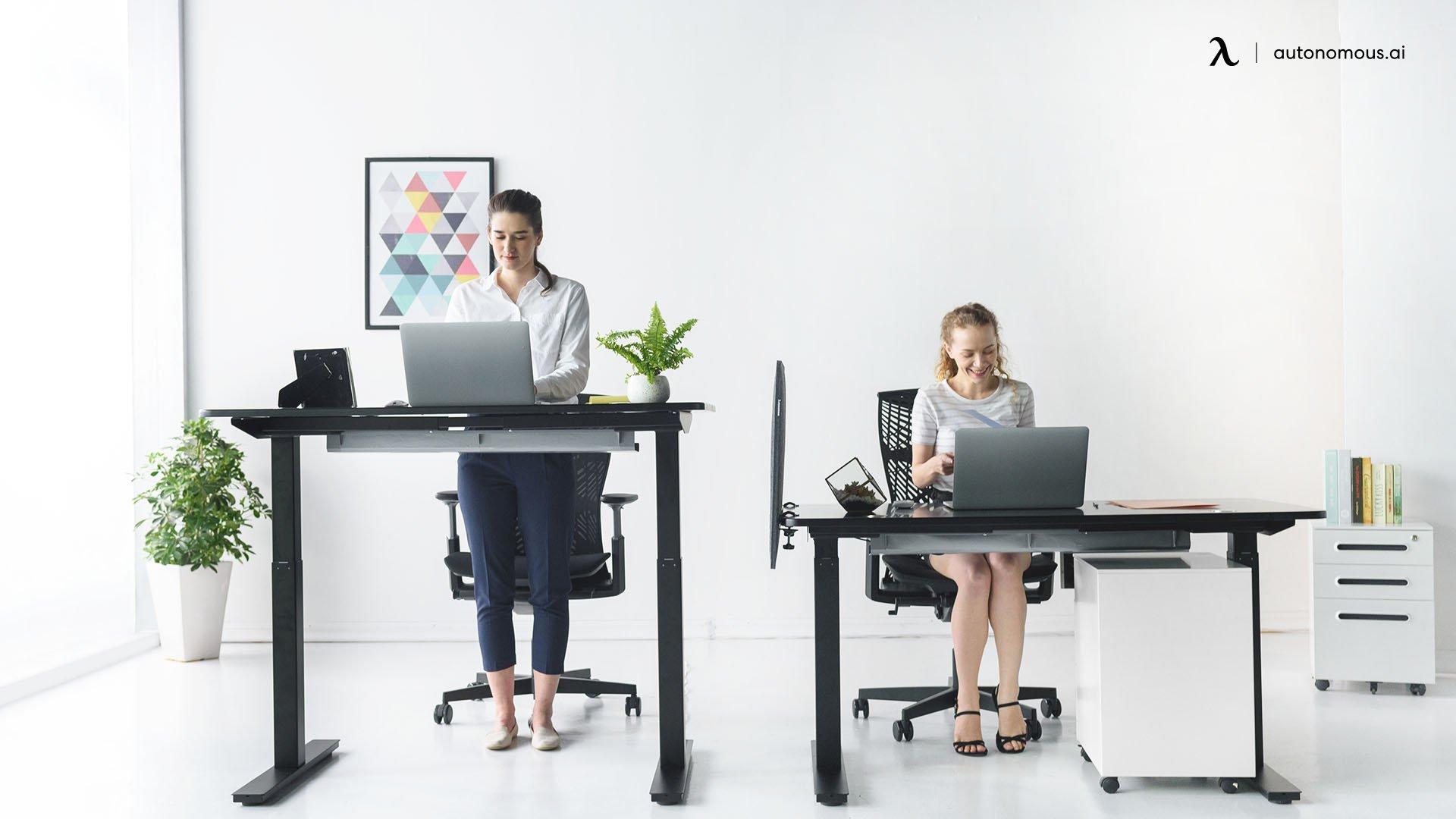 standing desk is better than a normal desk