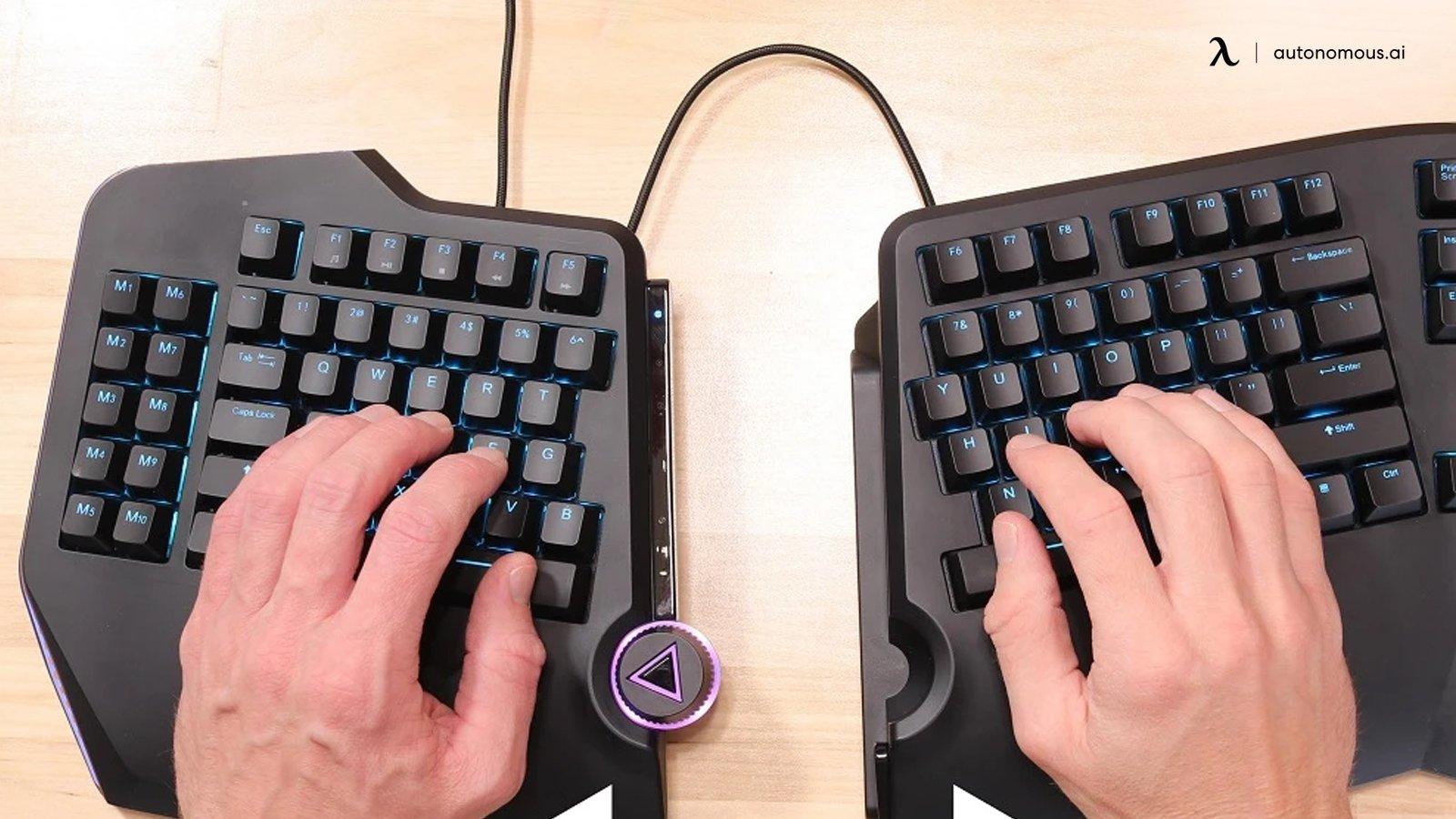 Ergo keyboard example