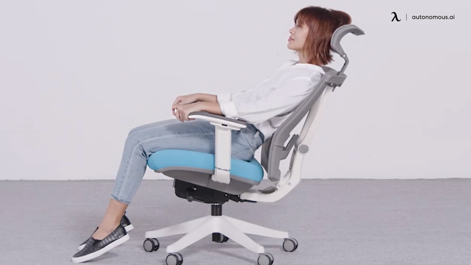 Reclining in chair