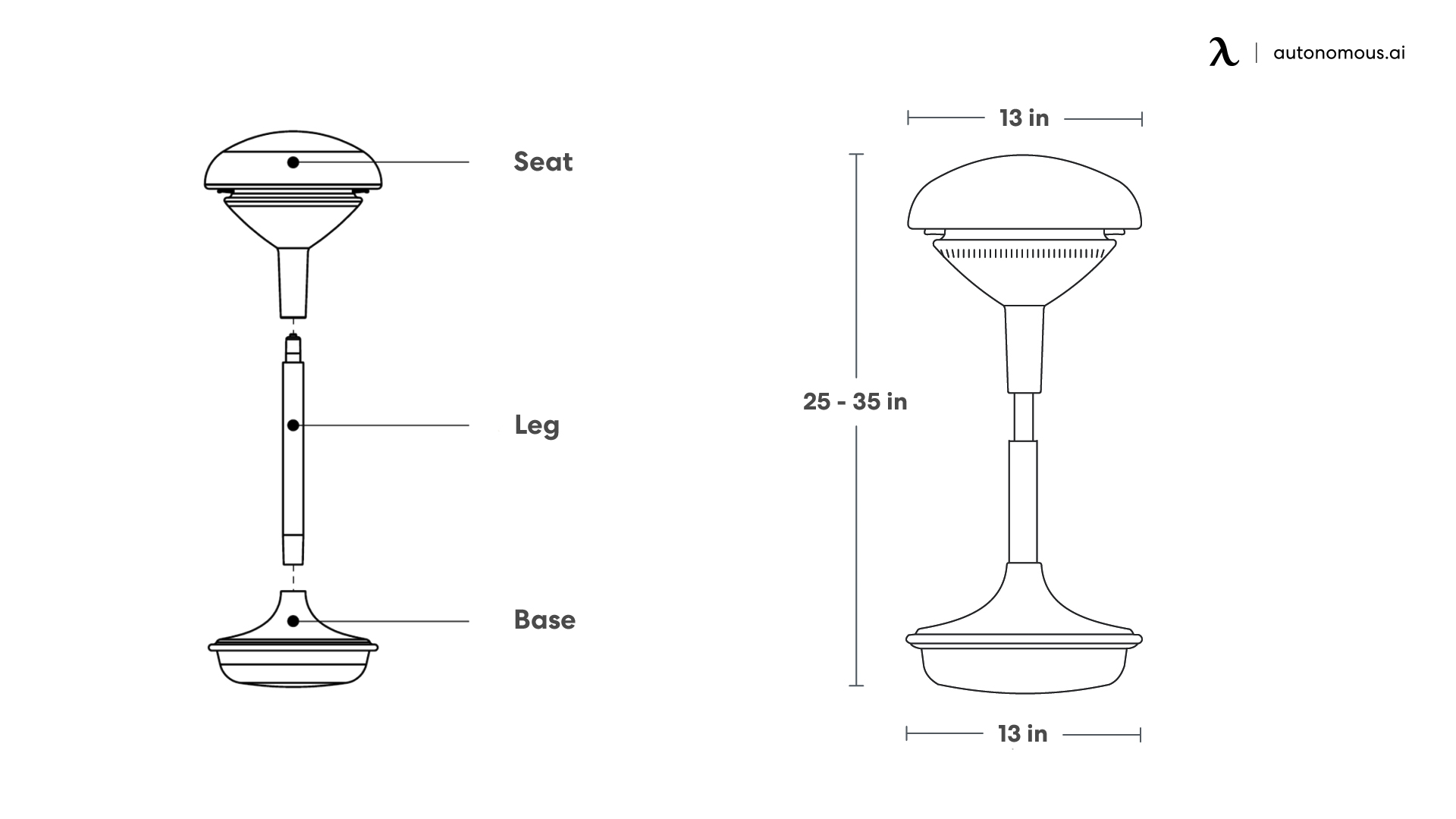 How to Assemble ErgoStool in Three Steps