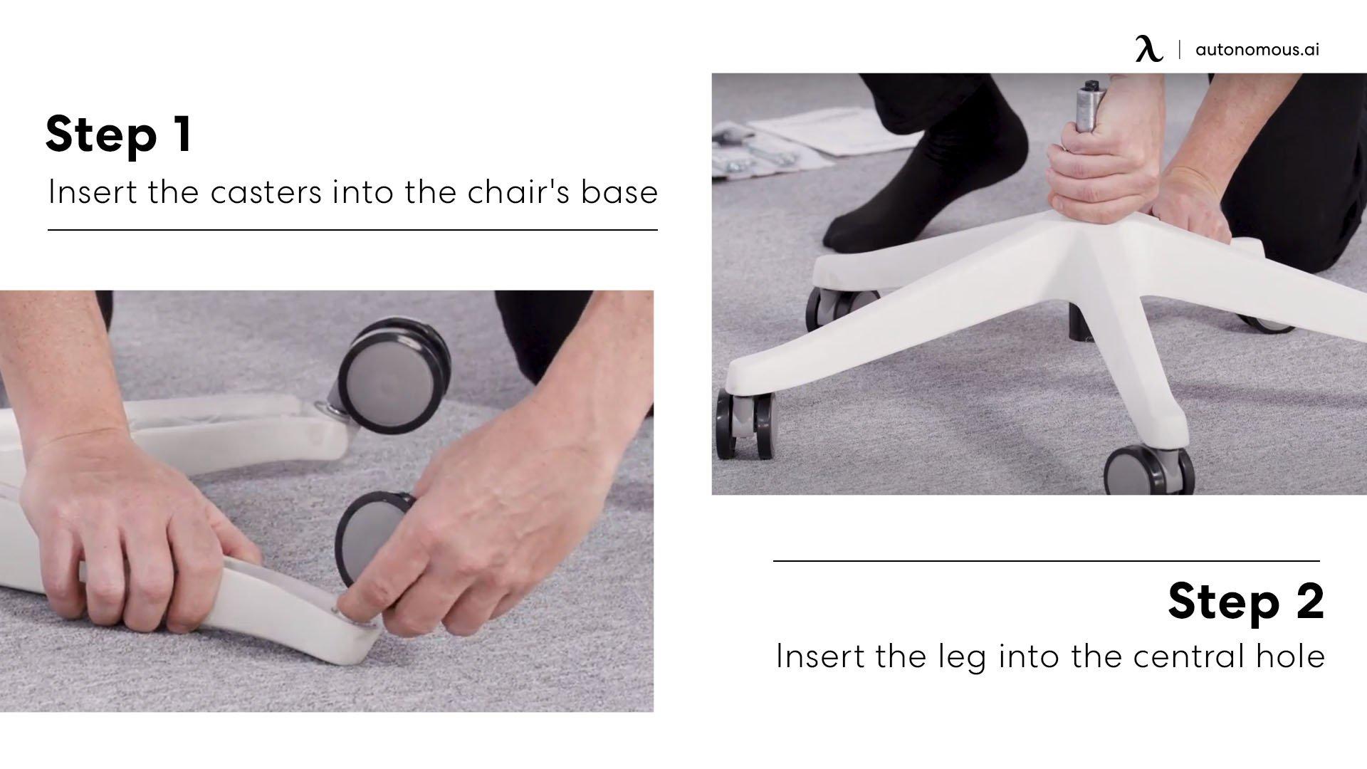 how to assemble ergochair 2