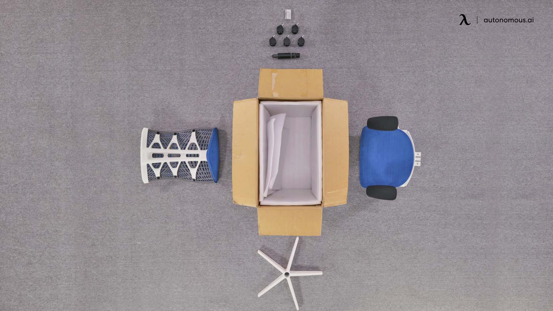 Packaging and Kinn Chair Assembly Instructions