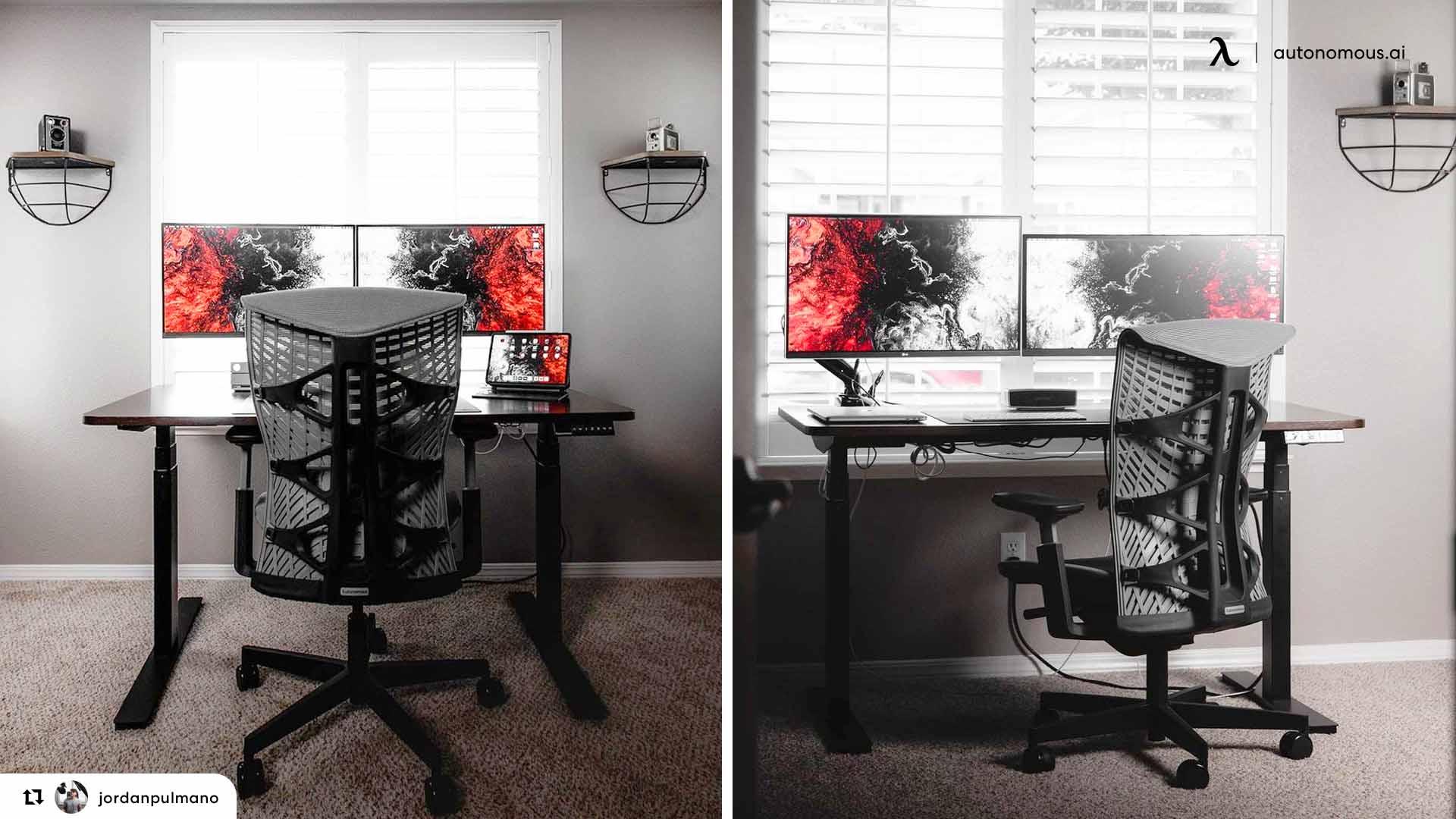 Black Studio Desk for Your Studio Workstation