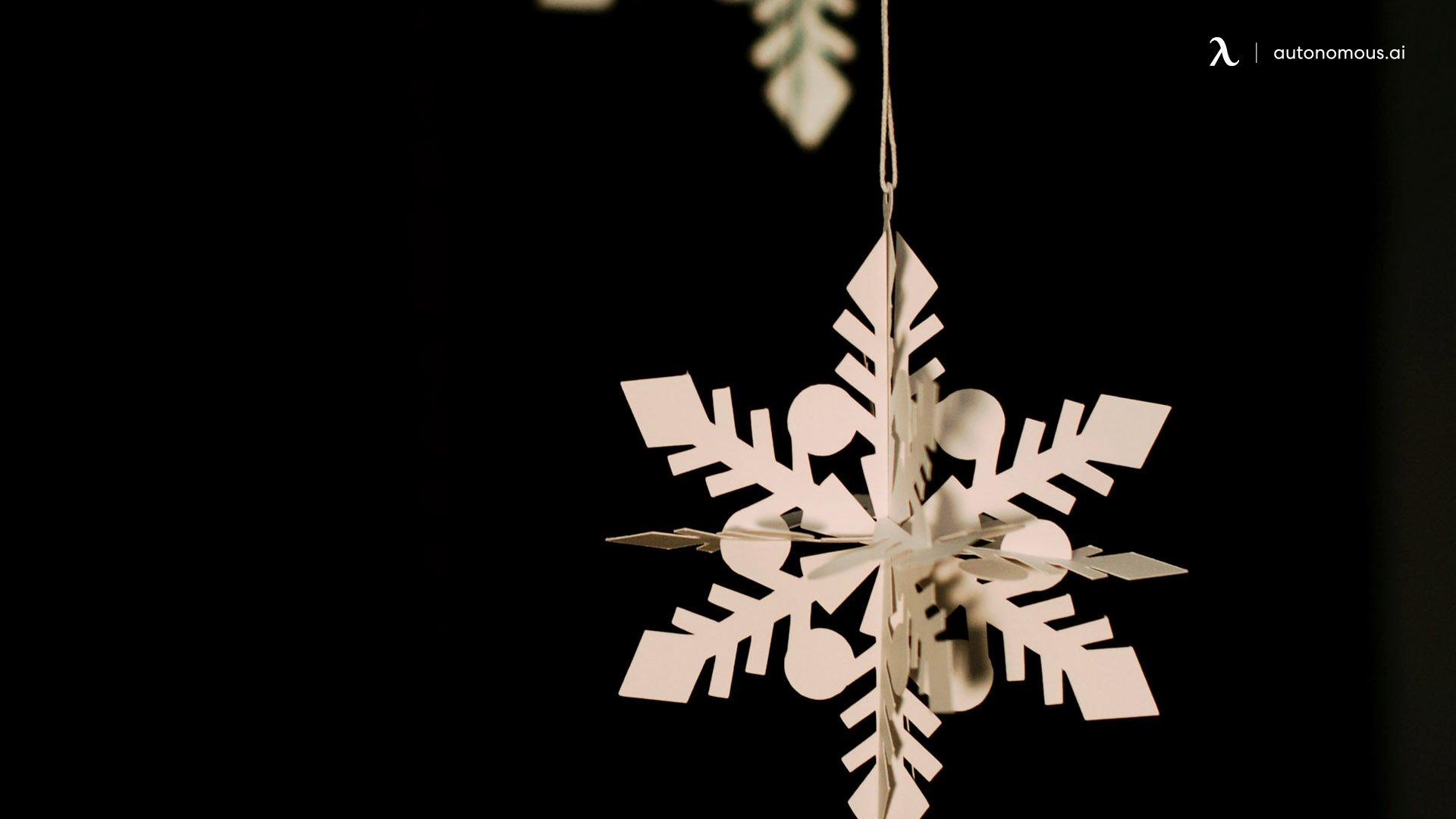 3D Snowflakes