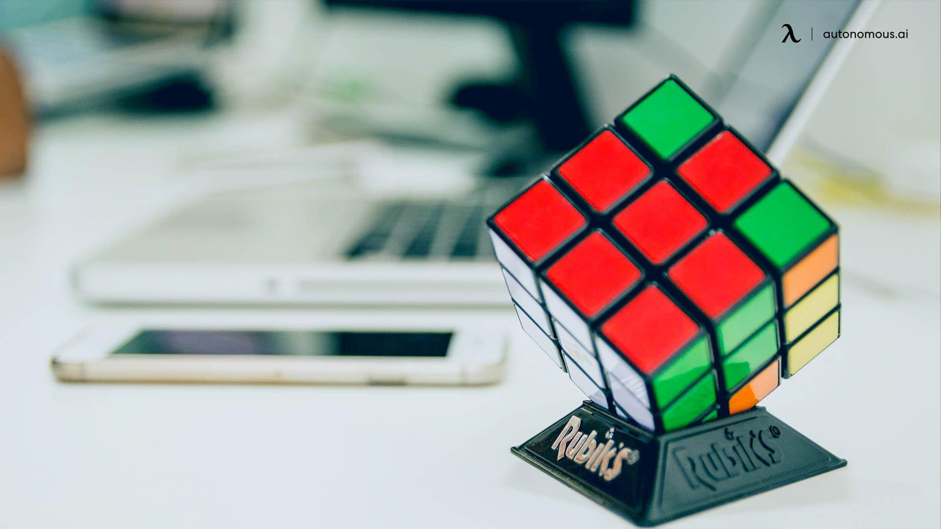 A Speed Cube or Rubik Cube