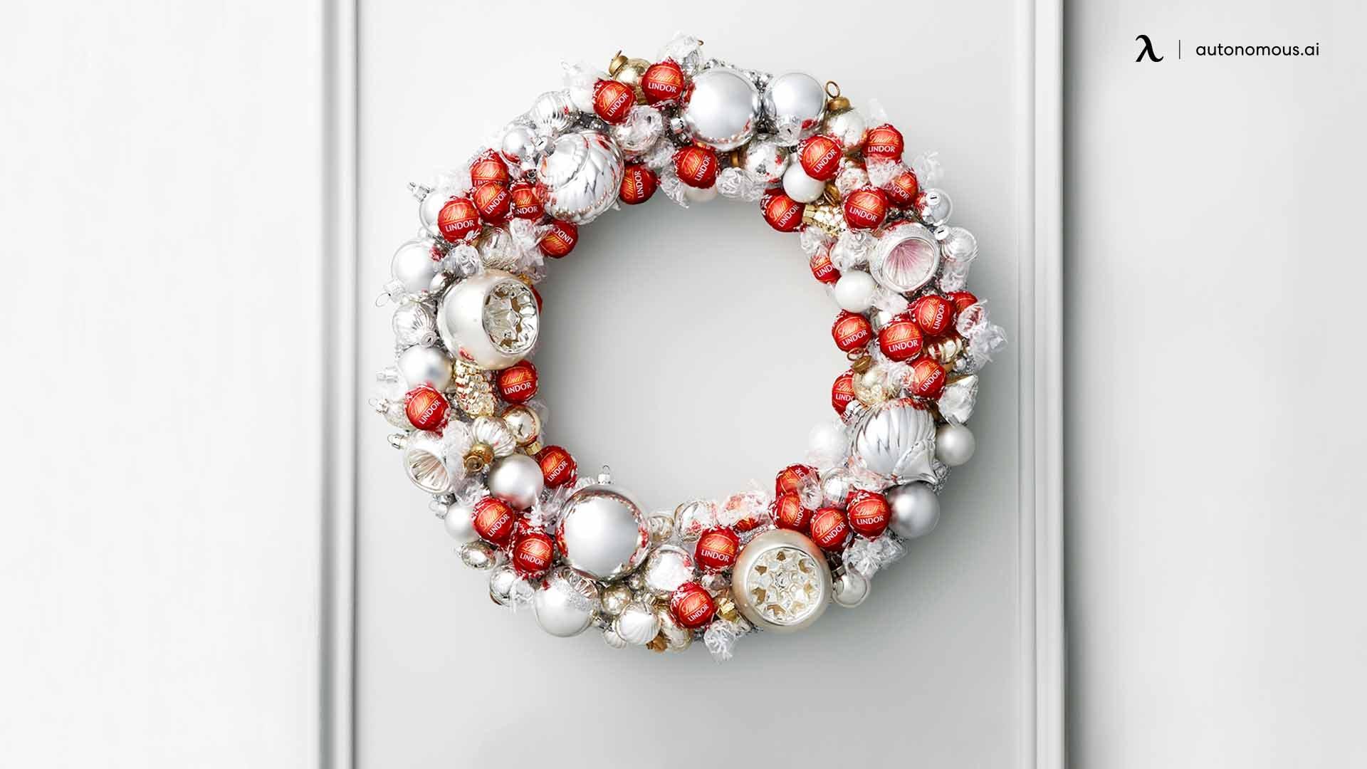 Chocolate Holiday Wreath
