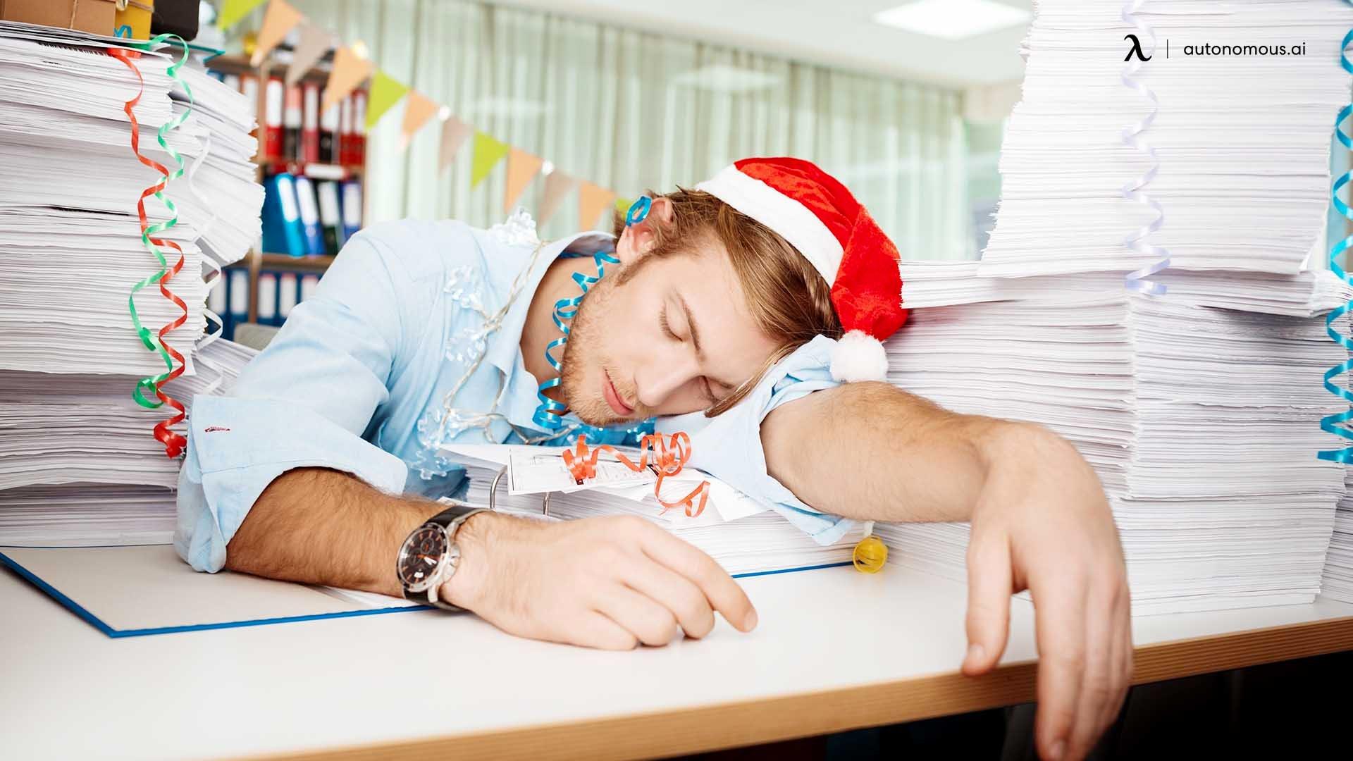 Year-end fatigue