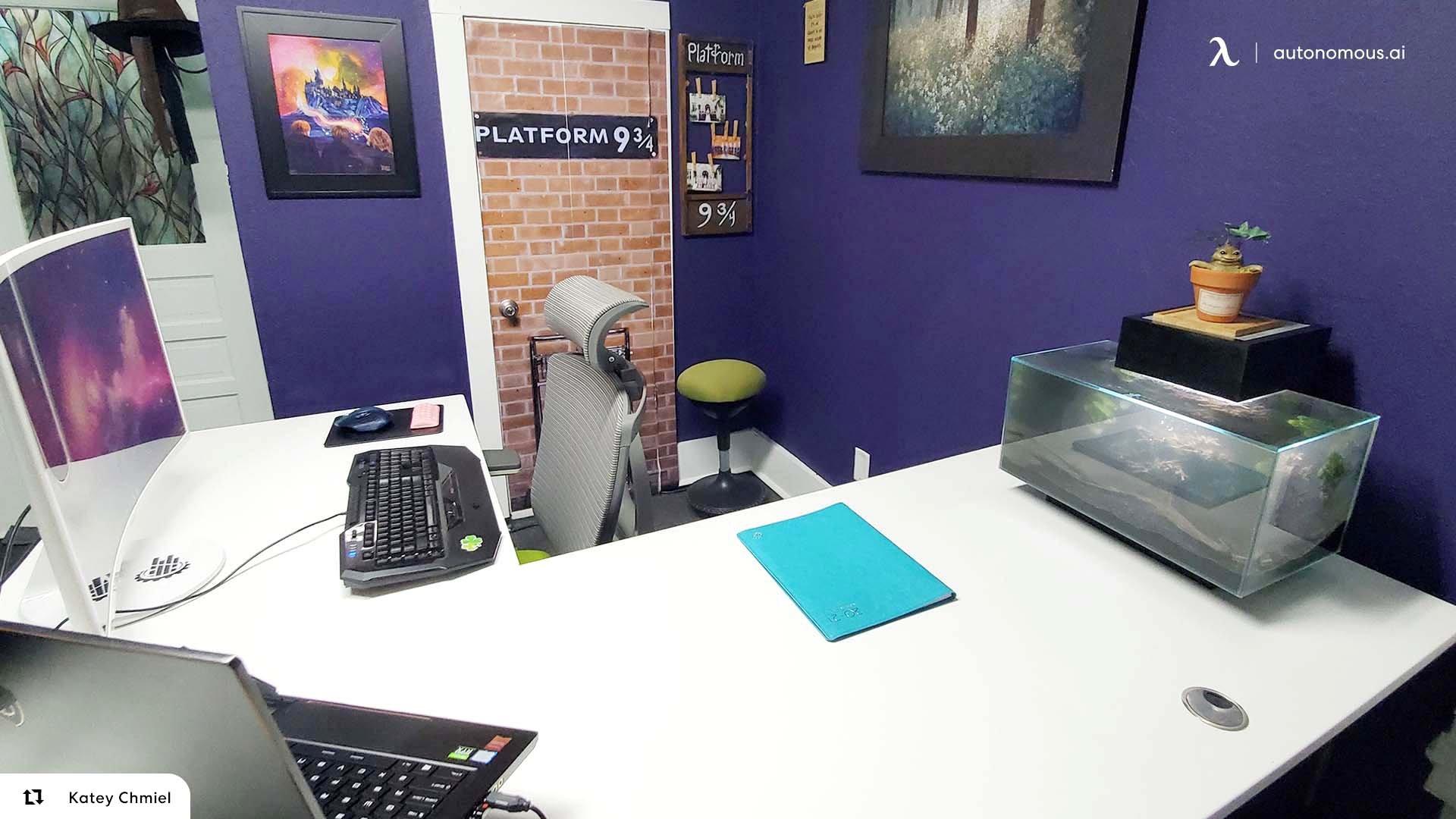 Corner Standing Desks are Cost-Effective