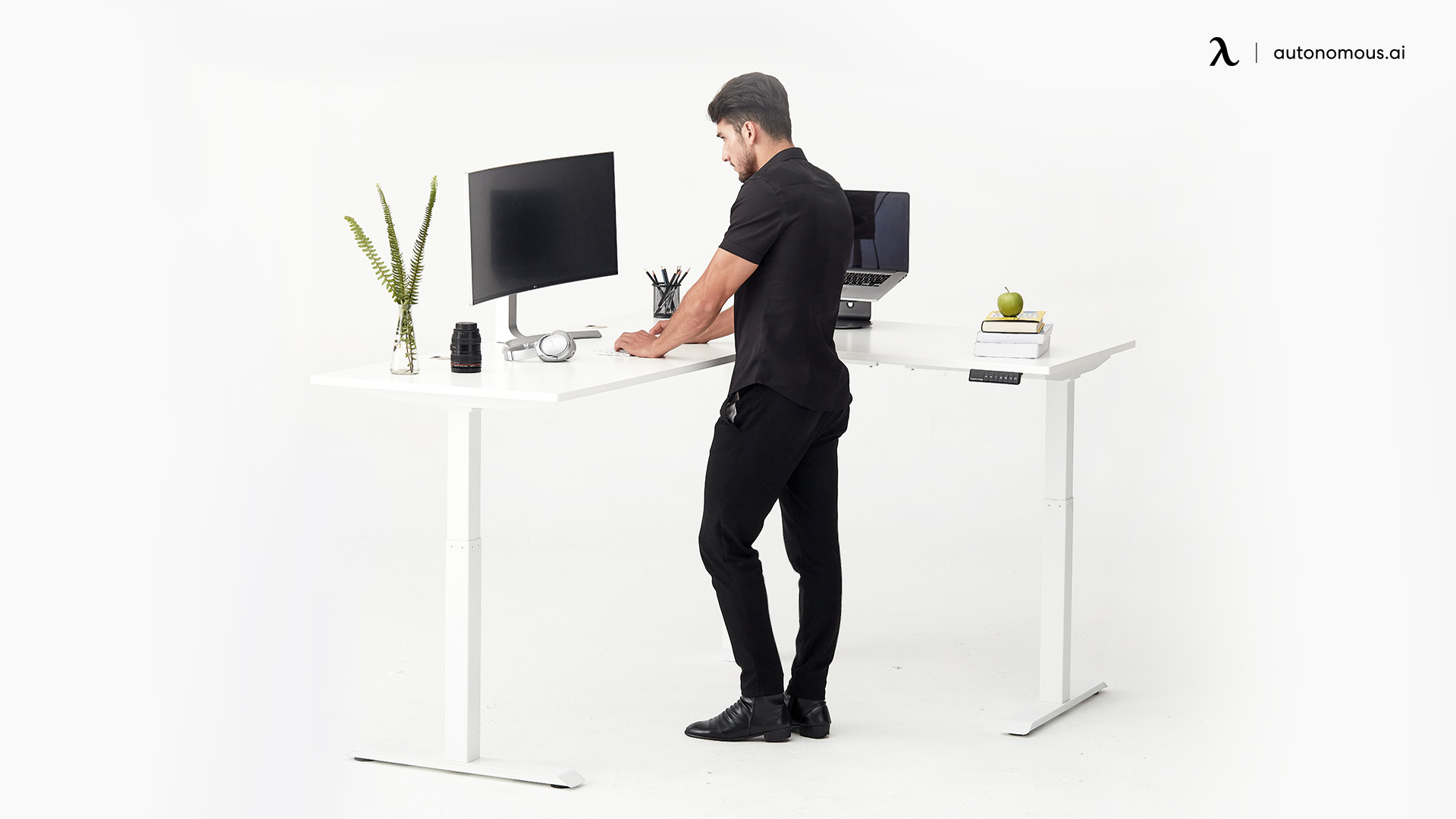 Stand Next to Your L-Shaped Desk