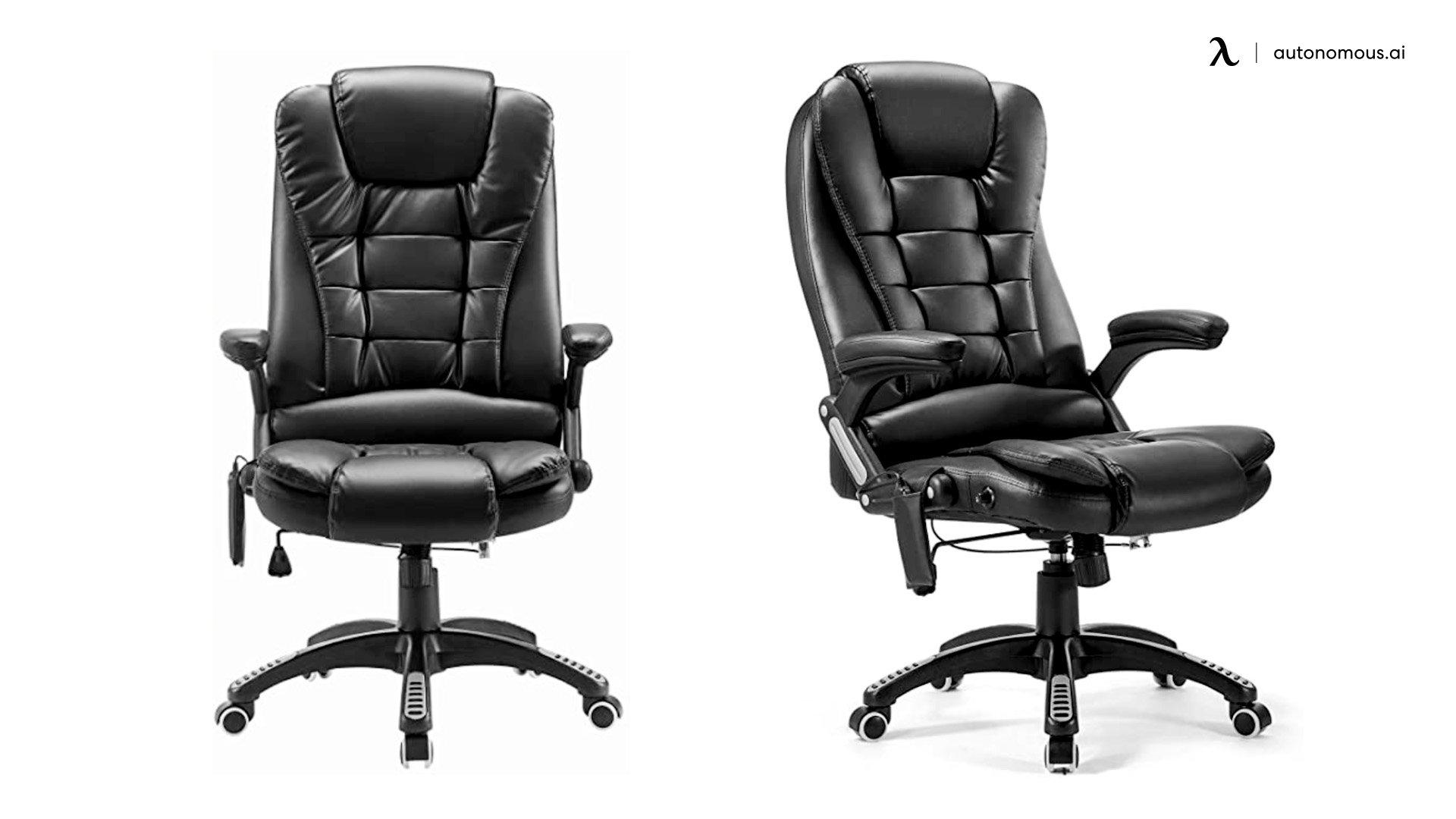 HomCom Reclining Home Office Chair