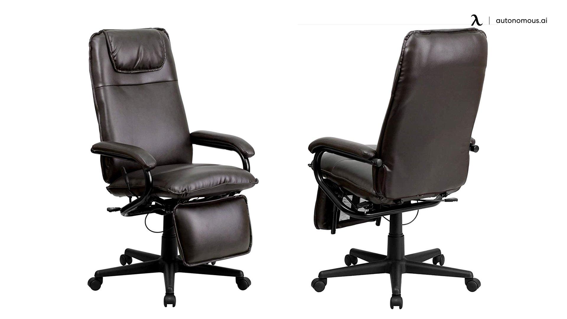 Flash Furniture High Back Reclining Swivel Chair