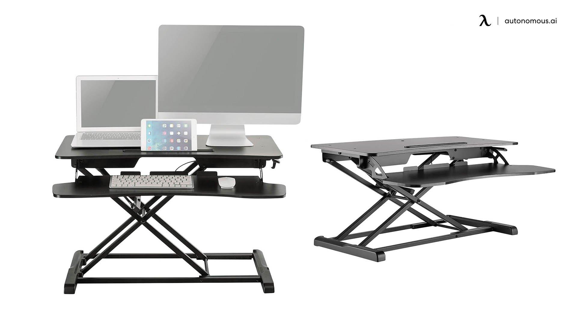 BK Media Height Adjustable Work Station