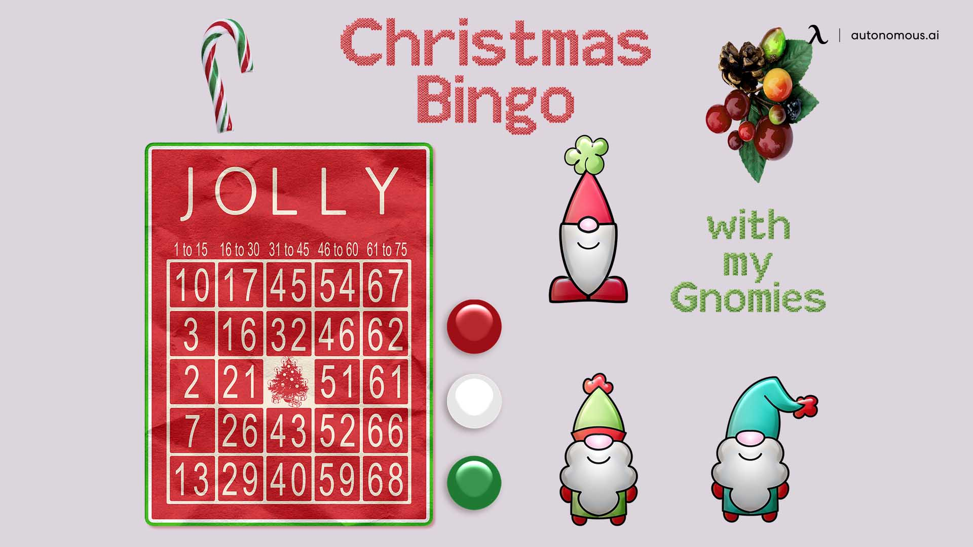 Online holiday bingo