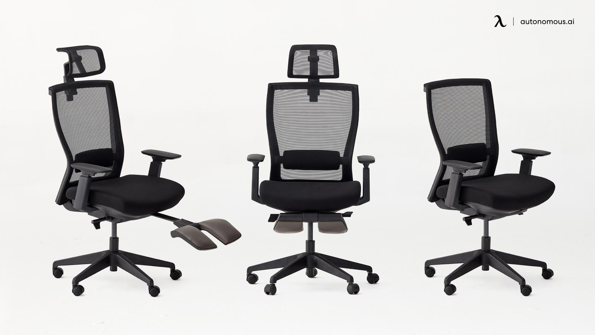 Autonomous MyoChair Ergonomic Chair for Back Support