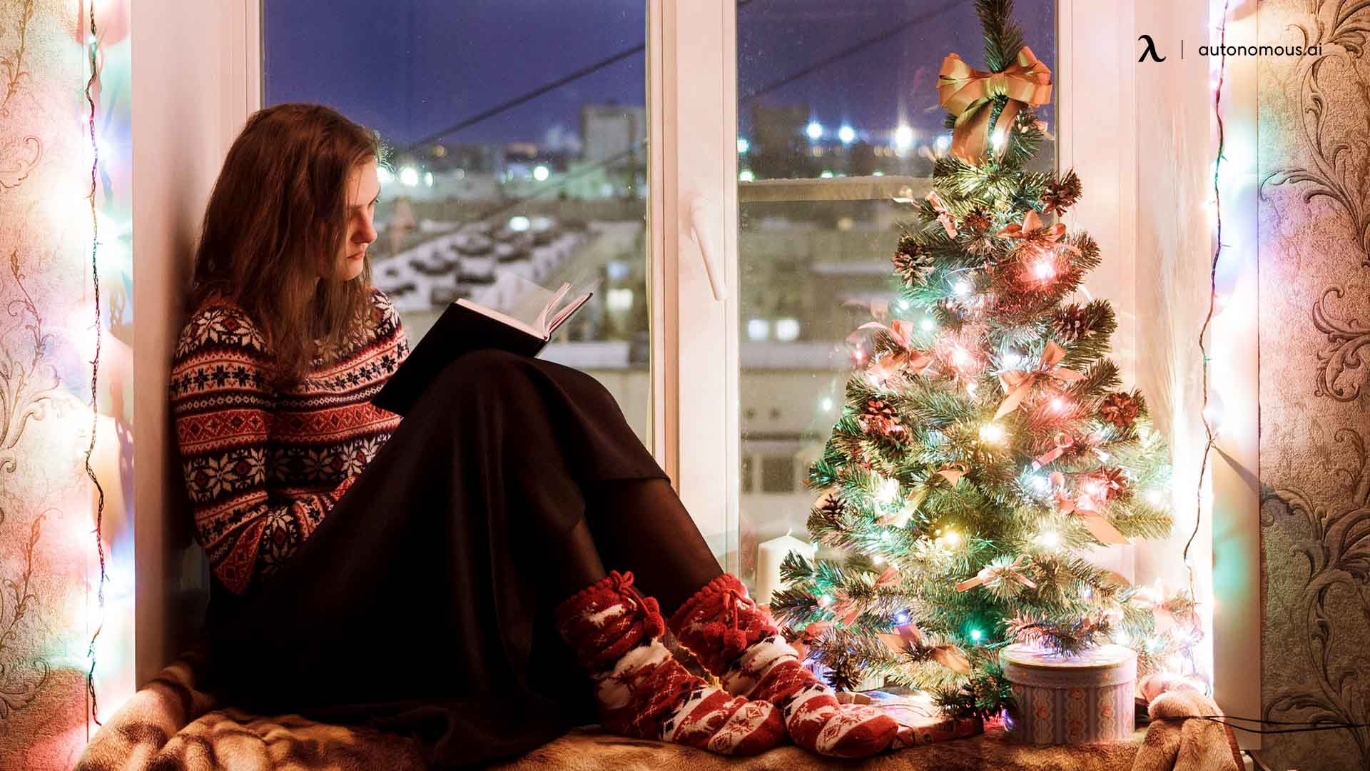 Near the Window - Best Place for Christmas Tree