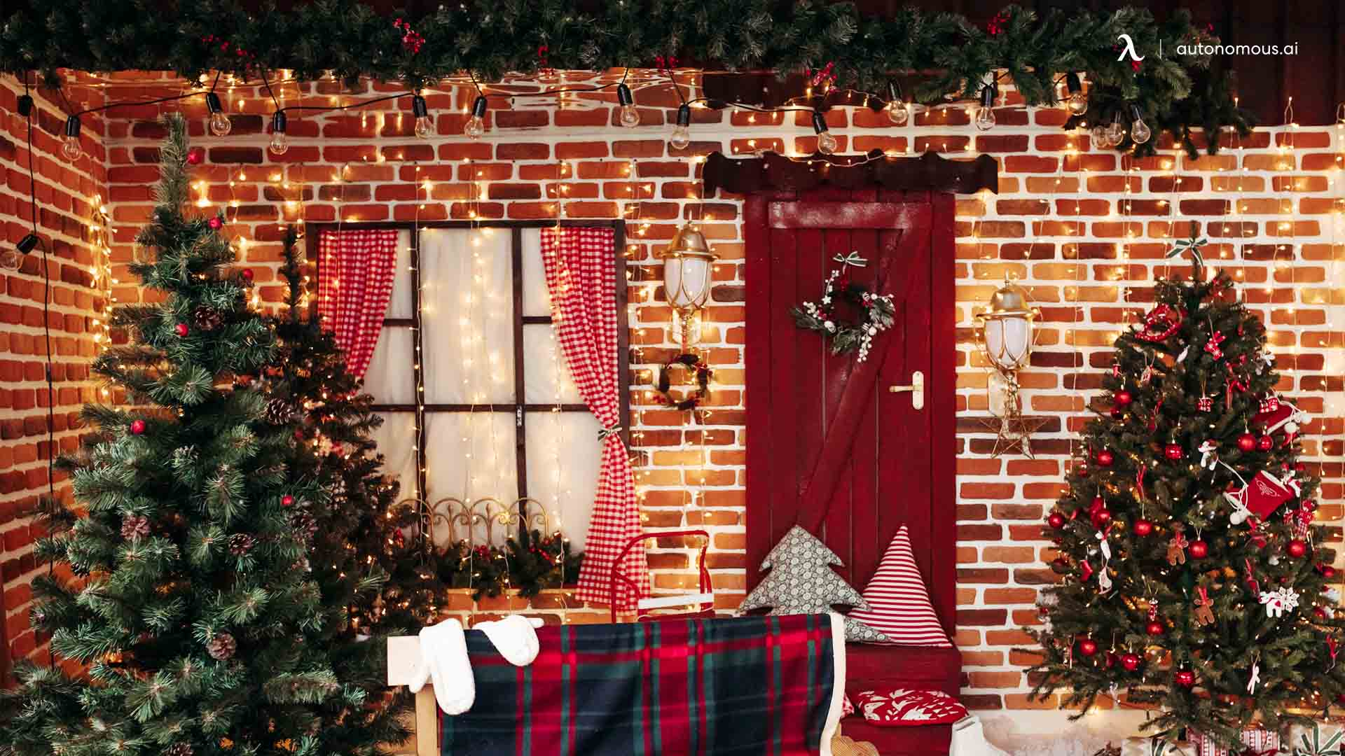 Decorate Your Surrounding Environment - one of things to do at home for christmas