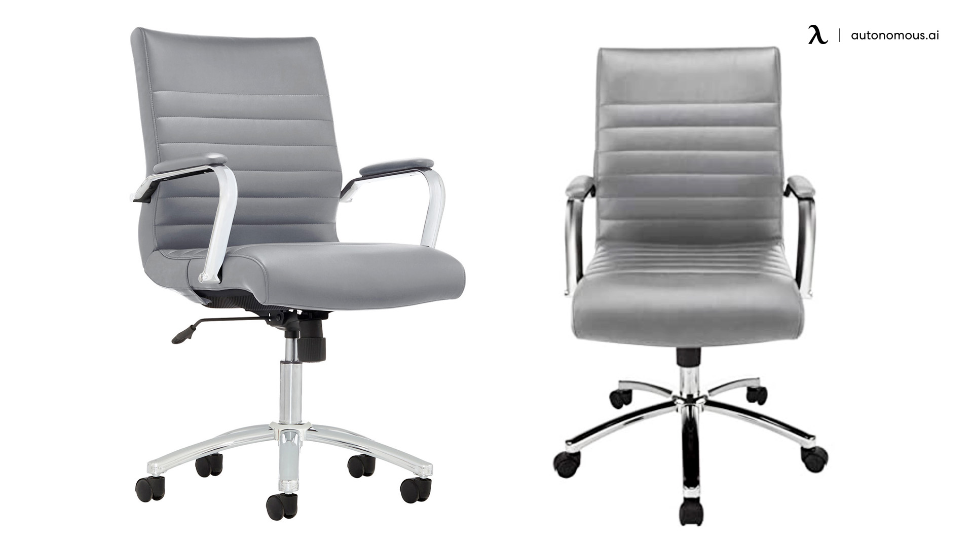 Gray Manager's Chair by Realspace