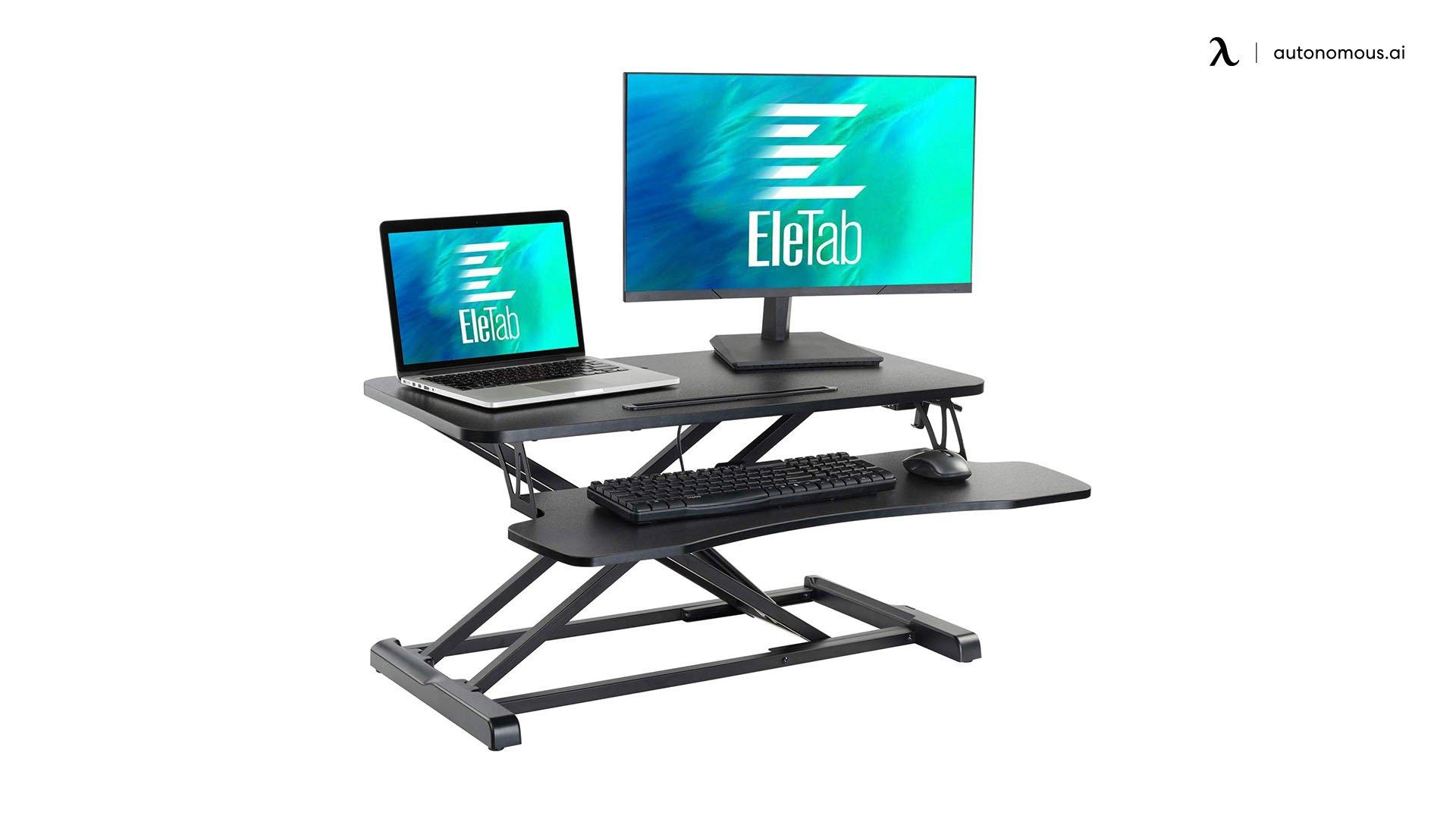 EleTab Affordable Standing Desk Under $500