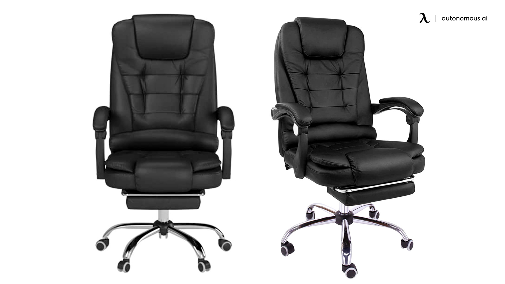 Halter Reclining Leather Office Chair