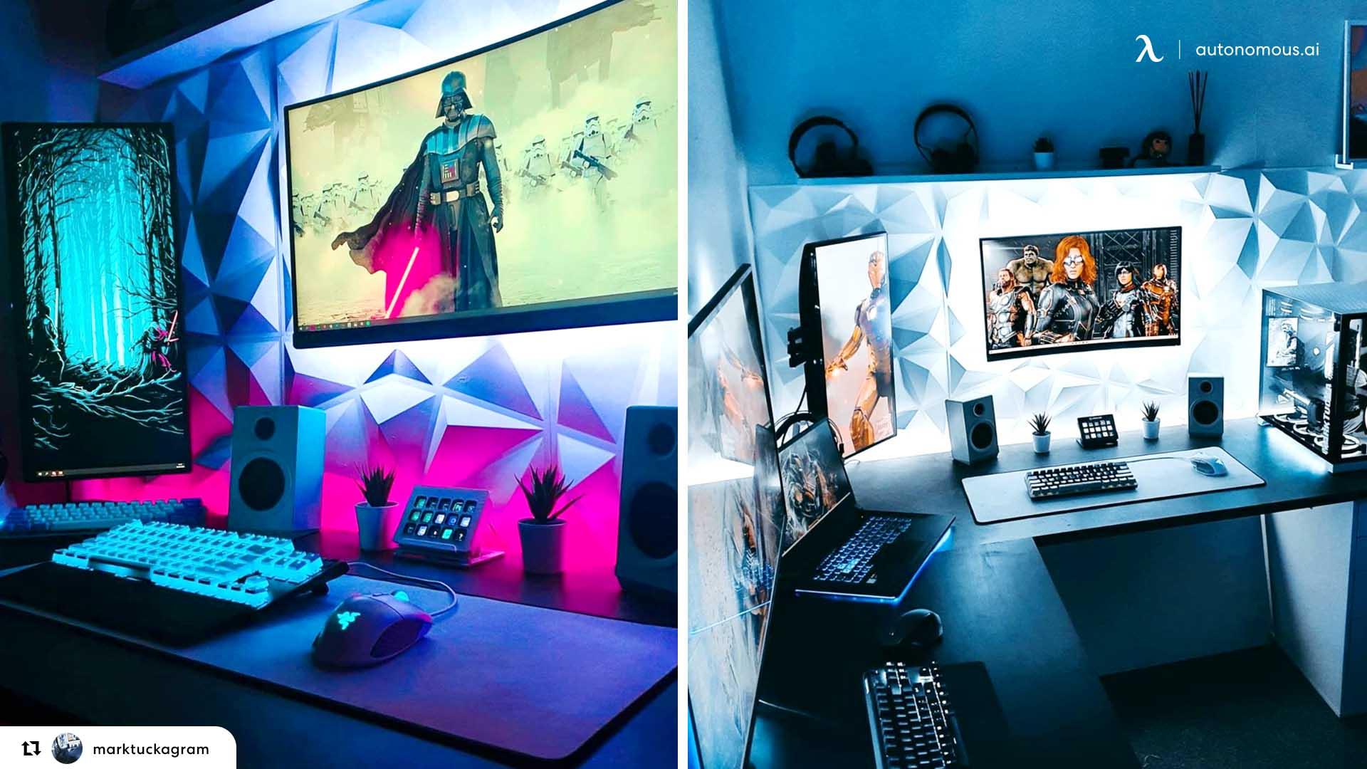 Incorporate desk accessories