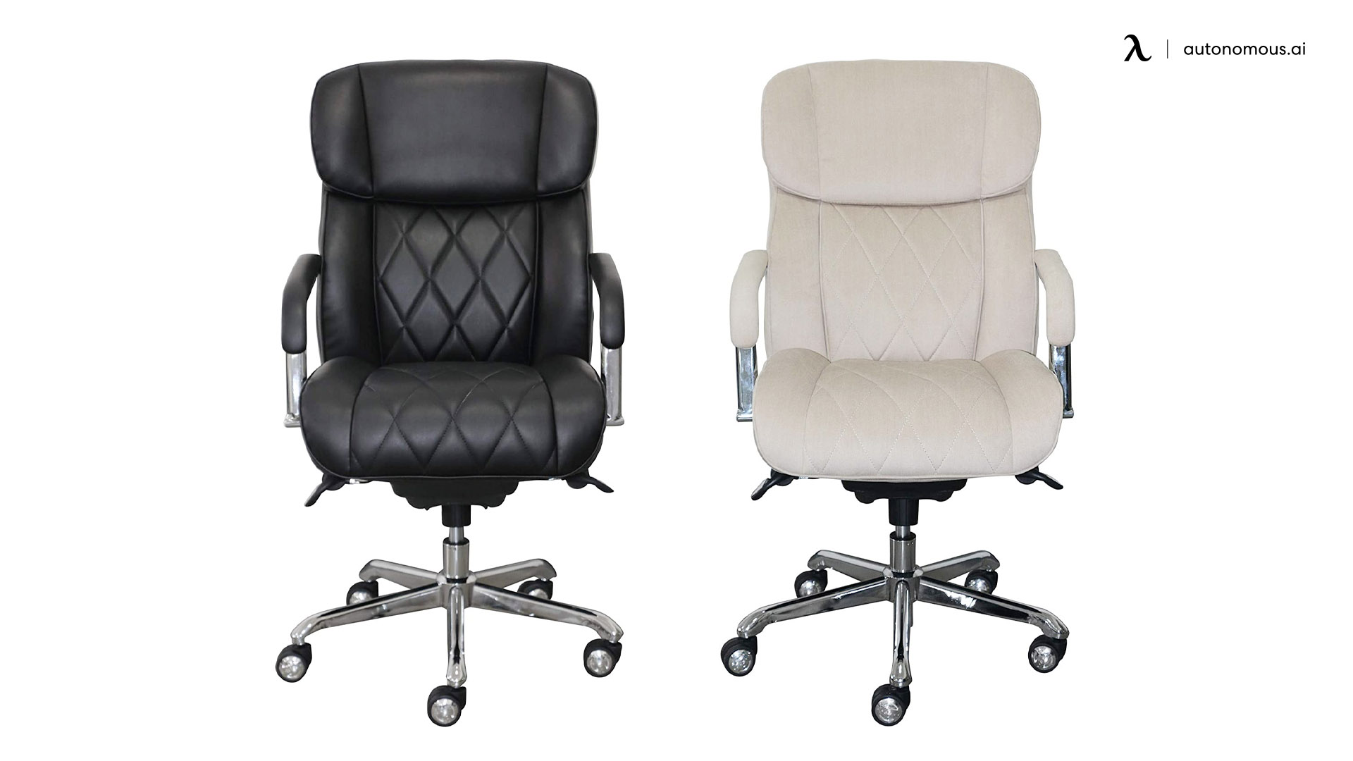 La-Z-Boy Sutherland Quilted Leather Executive Chair