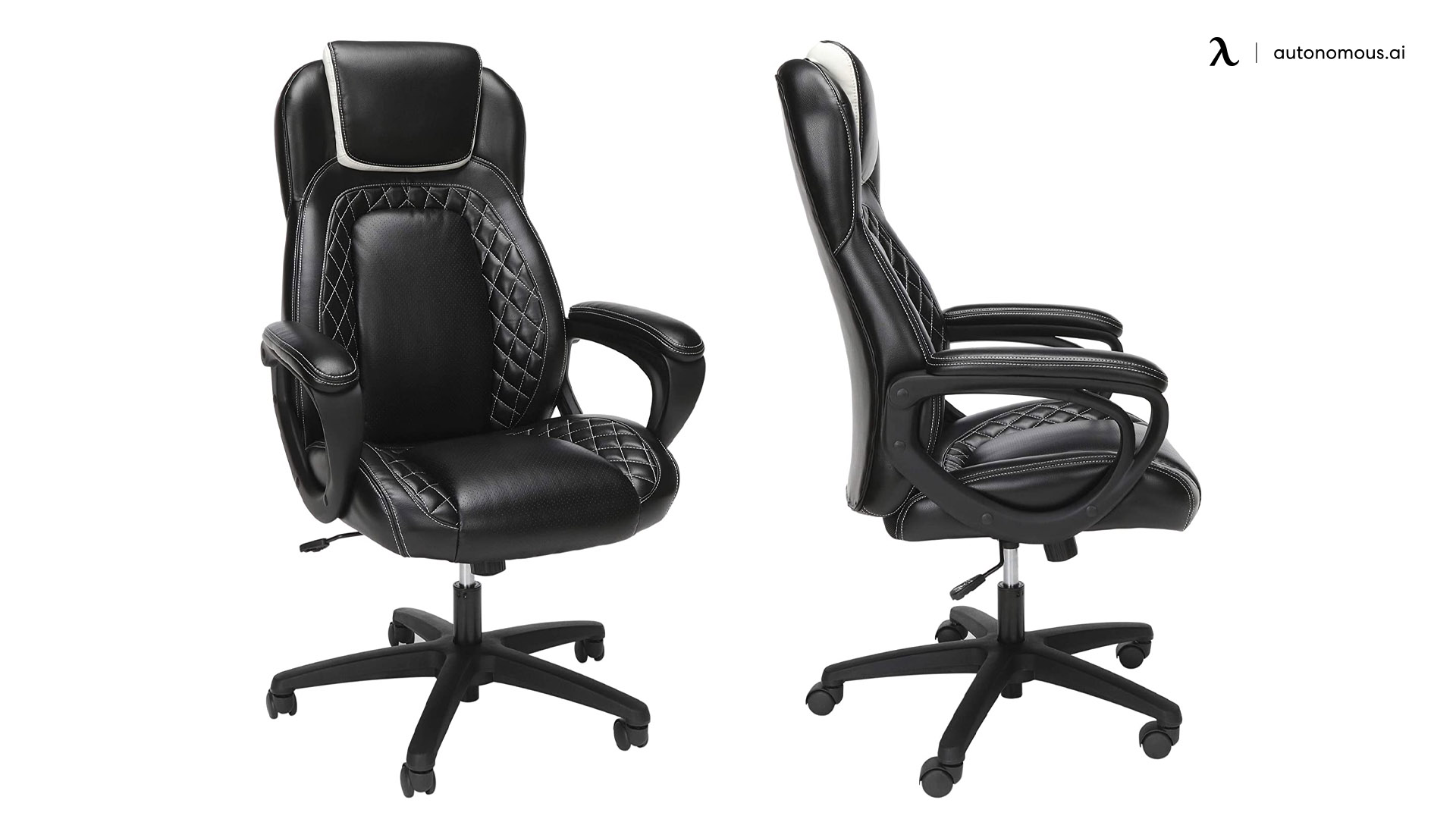 OFM Racing Style SofThread High Back Chair