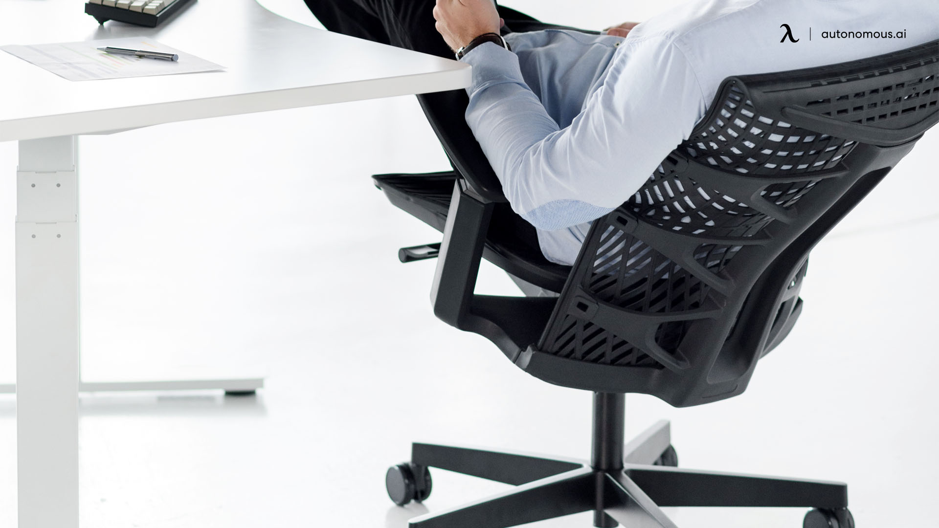 Office chair material
