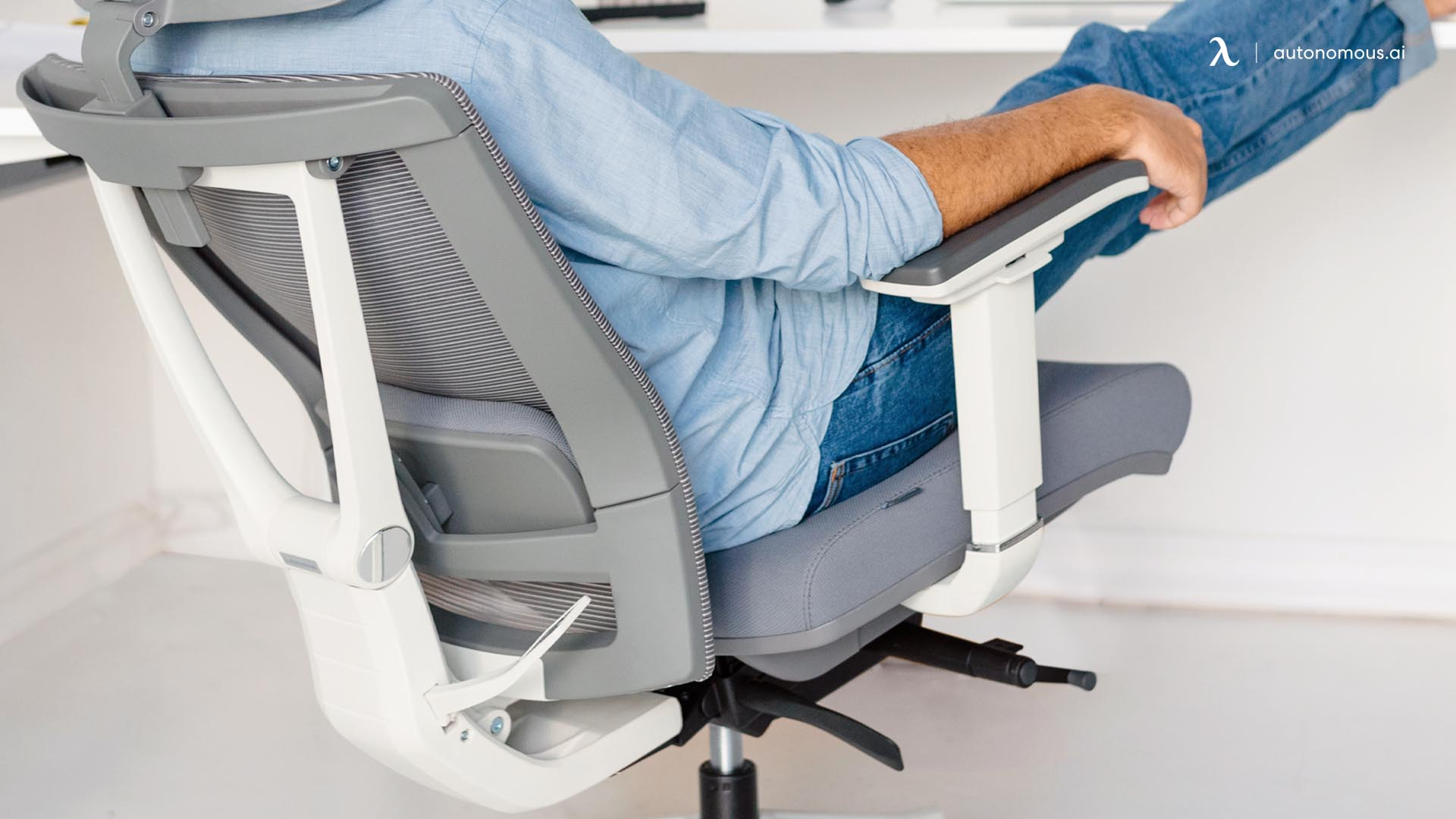 Chair armrest and seat height